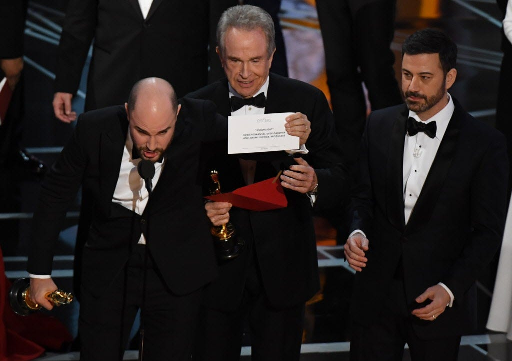 Oscars gaffe more than meets the eye: Your Say