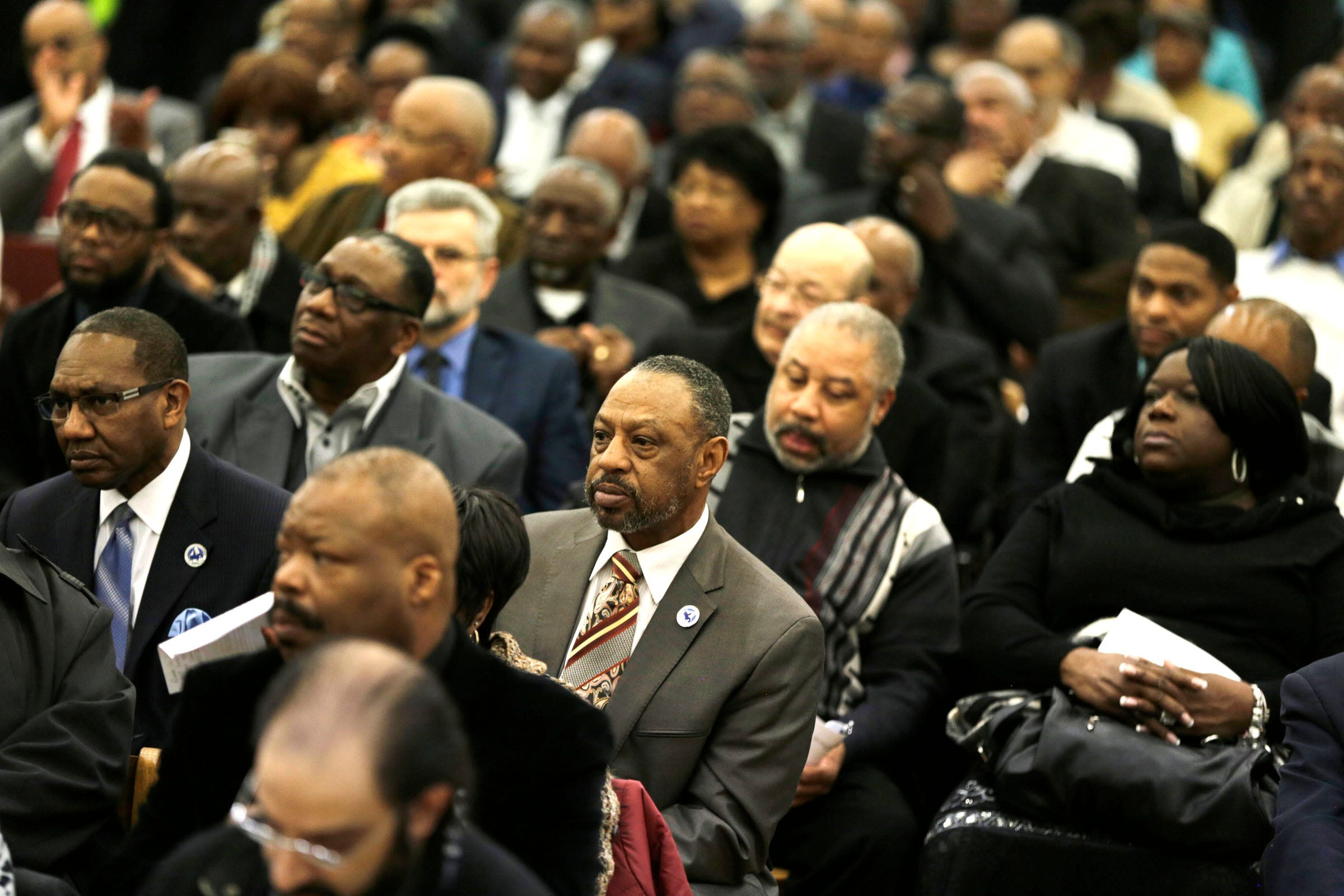 200 clergy members protest hike in Detroit water and drainage fees