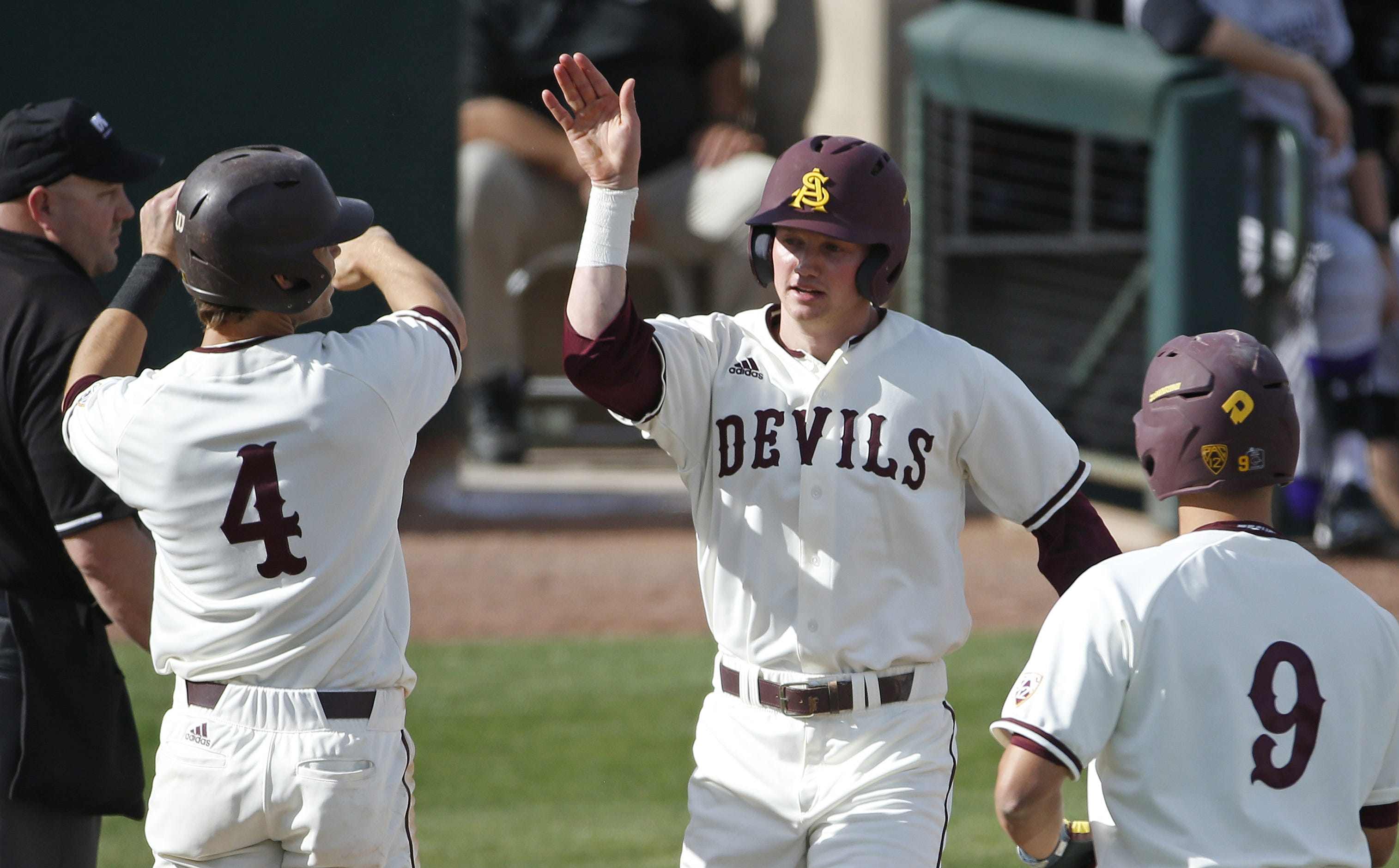 Andrew Snow leads ASU baseball to win with four hits
