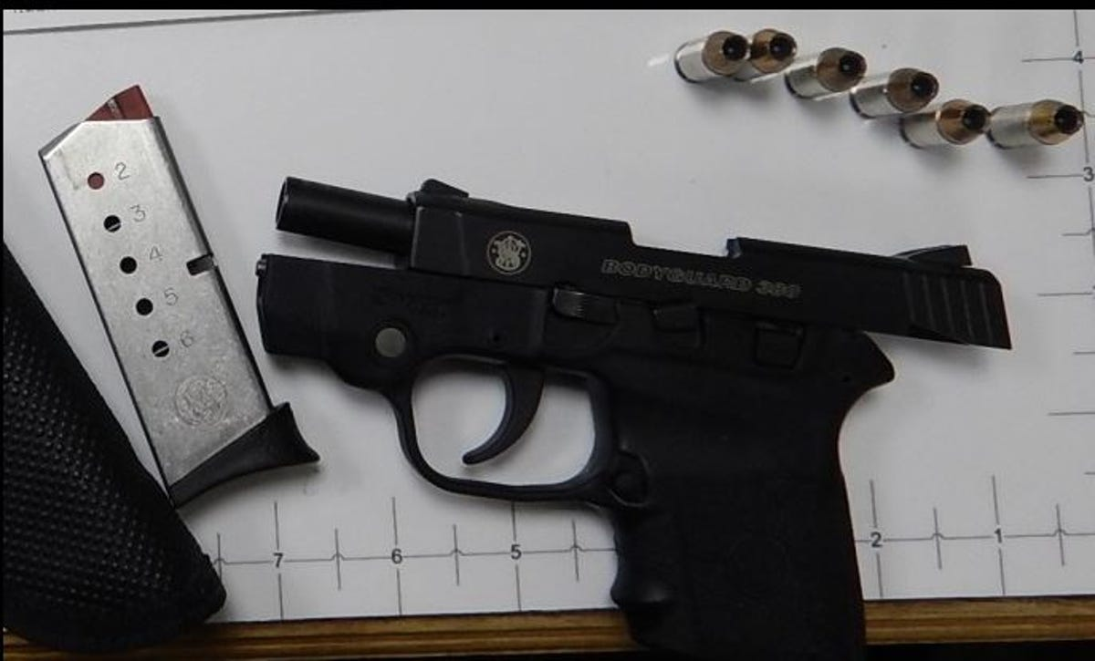 TSA find in Memphis airport bag: loaded Smith & Wesson  380