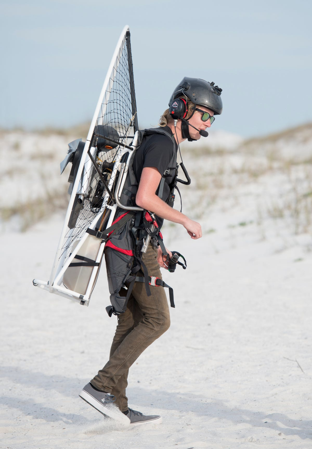 Powered paragliding is taking off on Pensacola Beach