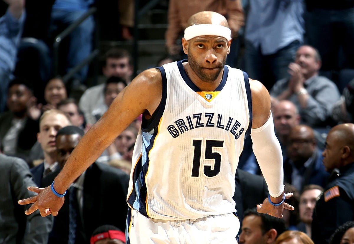 new style df930 84347 Memphis Grizzlies' Vince Carter making age a timeless number