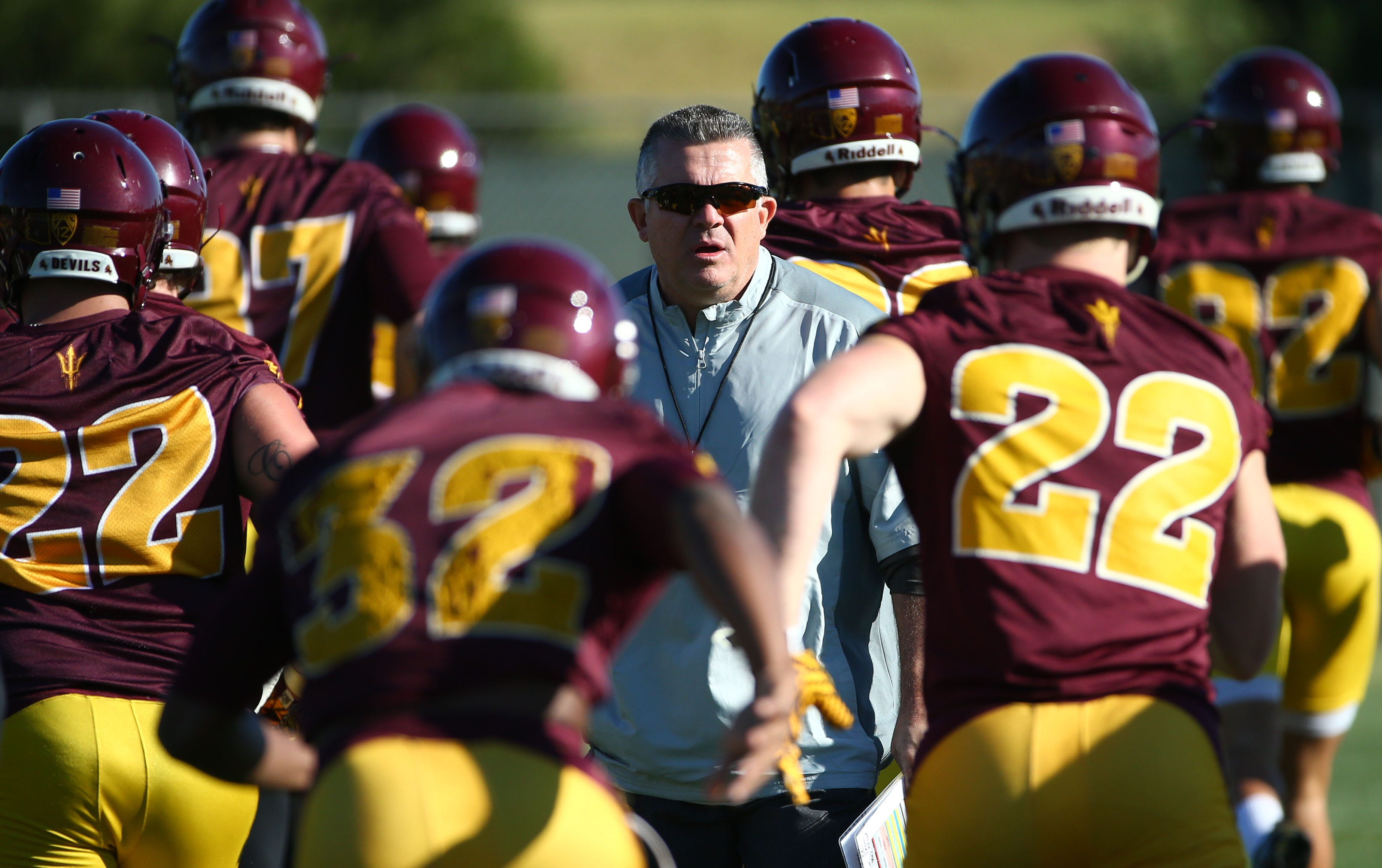ASU football: Timeline of offseason personnel changes