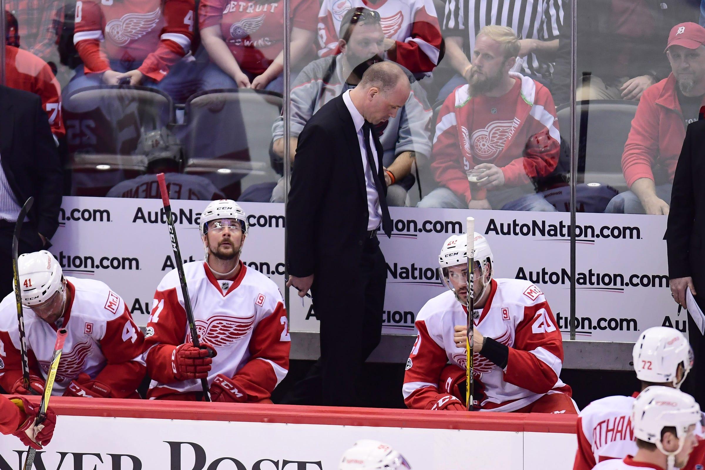 Detroit Red Wings' Jeff Blashill: 'This isn't OK'