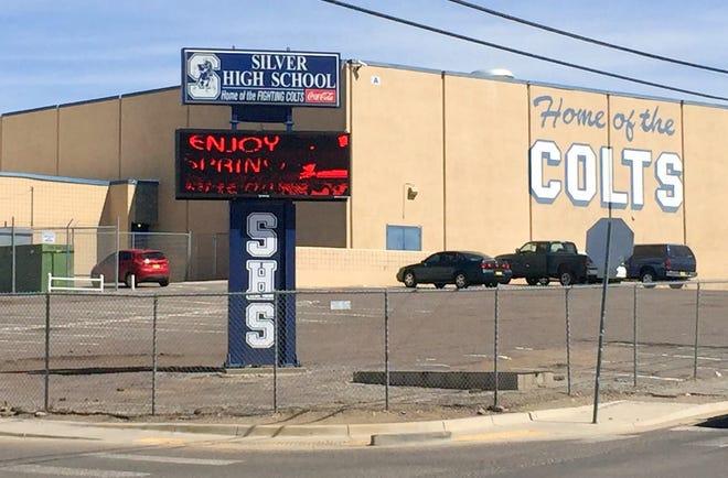 Silver High School, seen in a 2017 file photo.