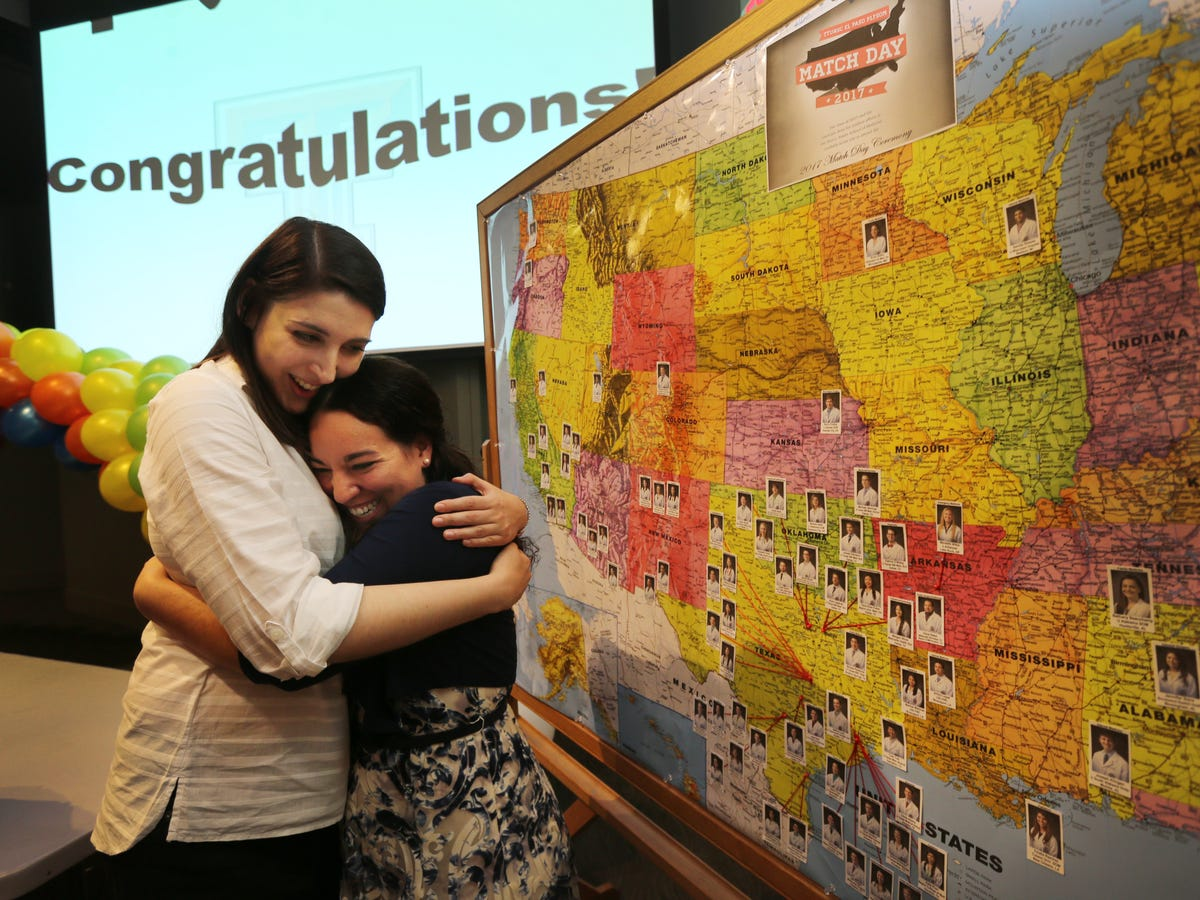 El Paso medical students meet their match