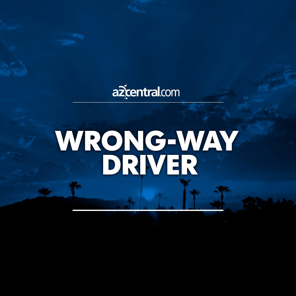 Wrong-way driver crashes into exit-ramp wall on Loop 101 in Scottsdale