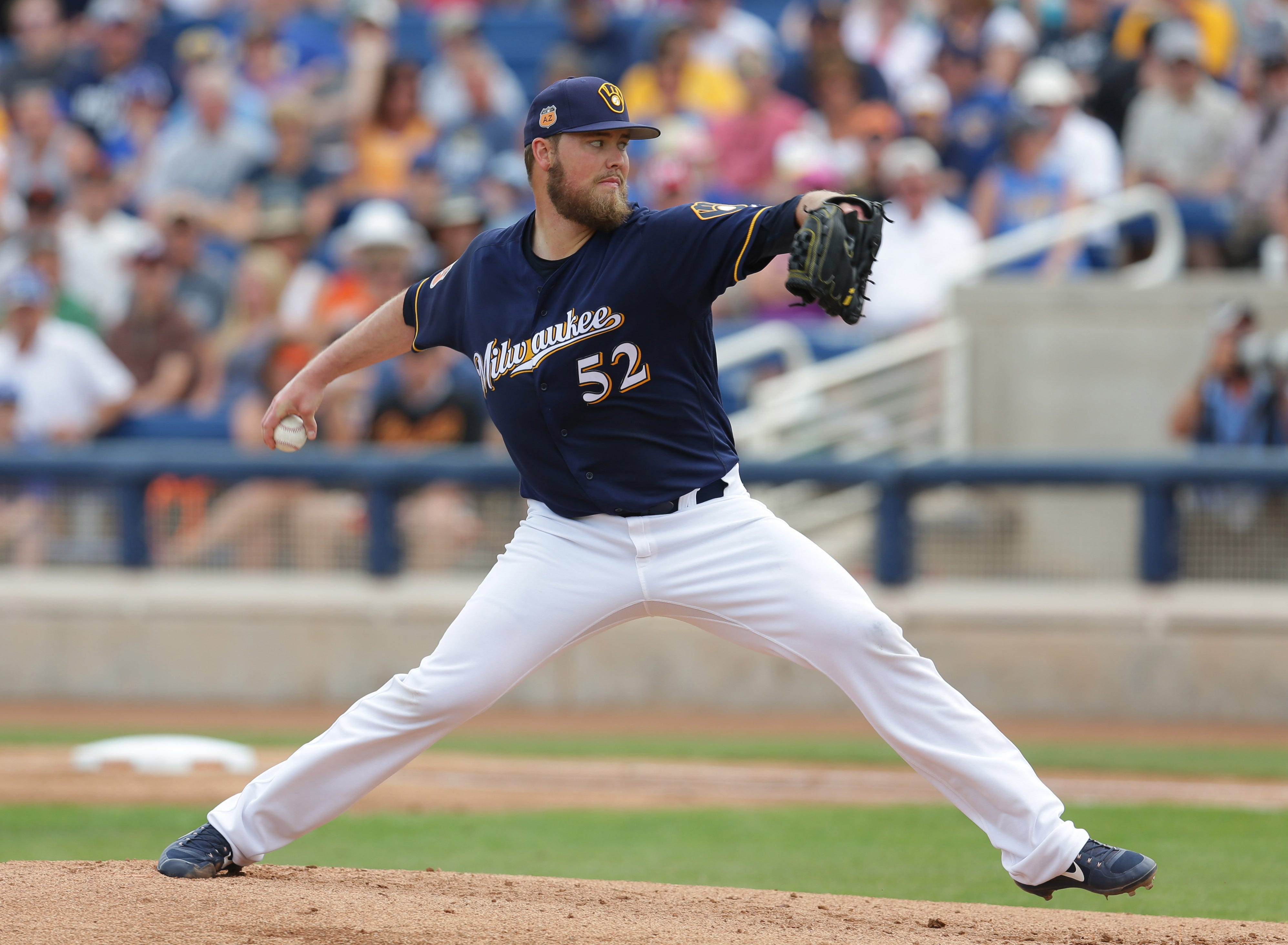 Game report: Jimmy Nelson solid, but Brewers fall to Giants