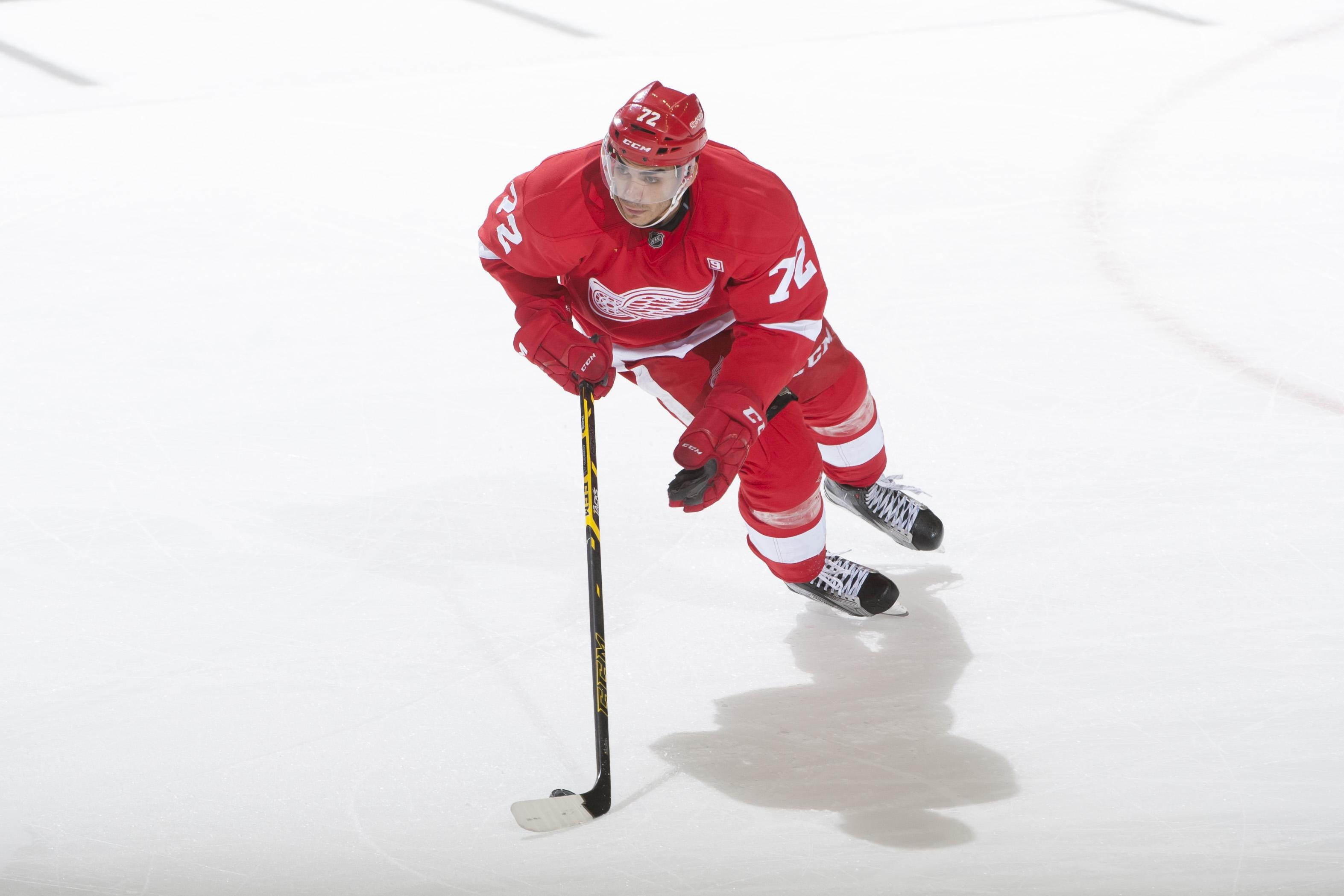 Wings' Athanasiou says NHL a 'learning game'