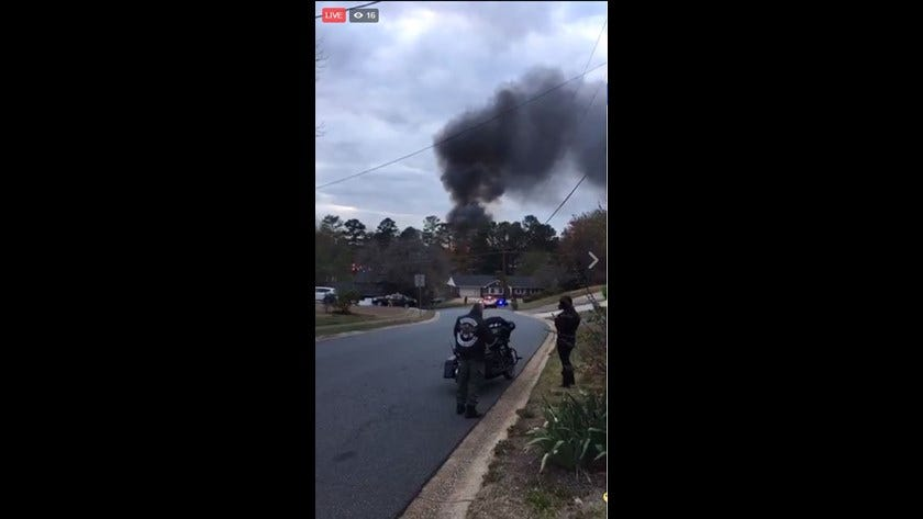Pilot killed when plane crashes in suburban Atlanta