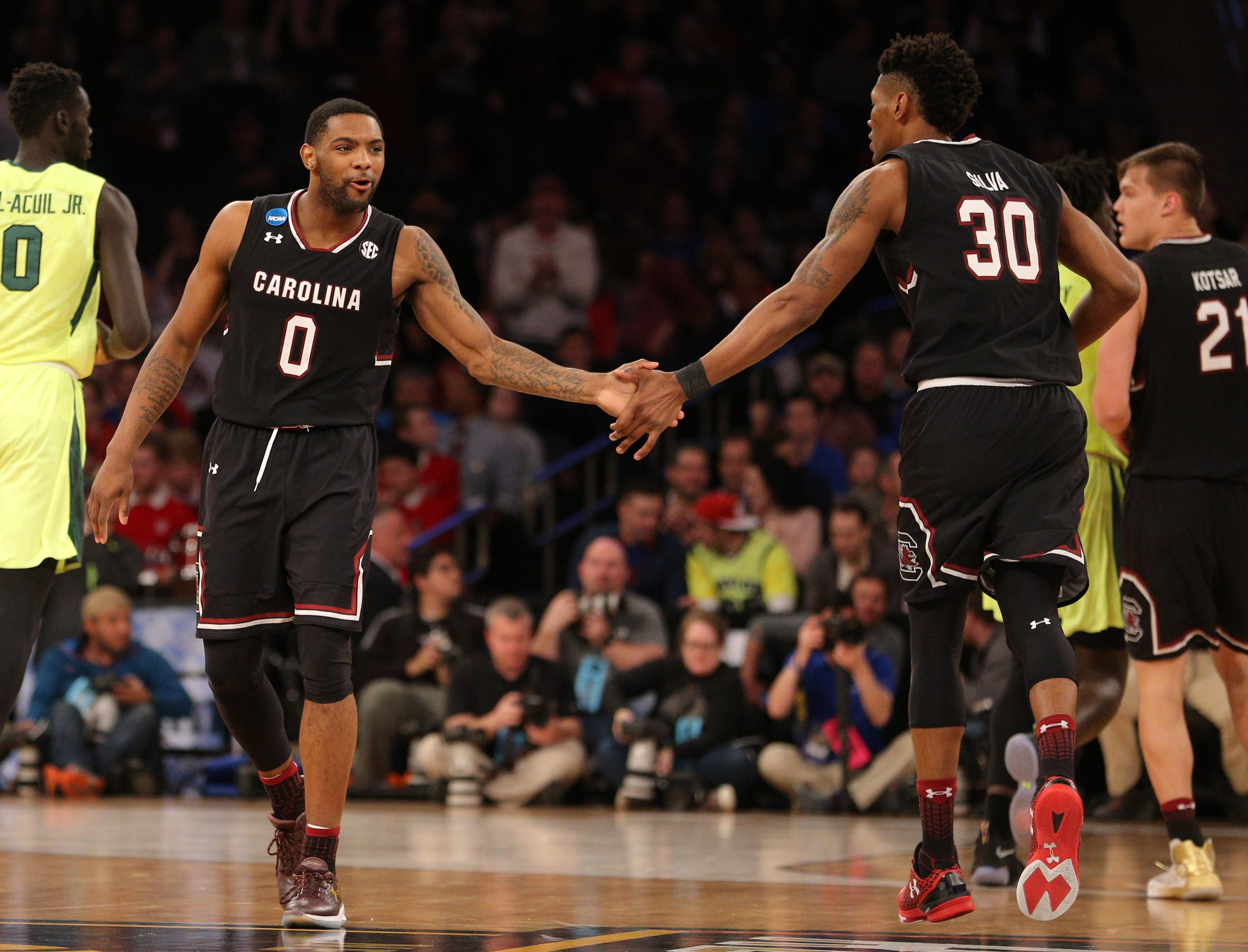 South Carolina's magical run continues with win vs. Baylor to reach Elite 8