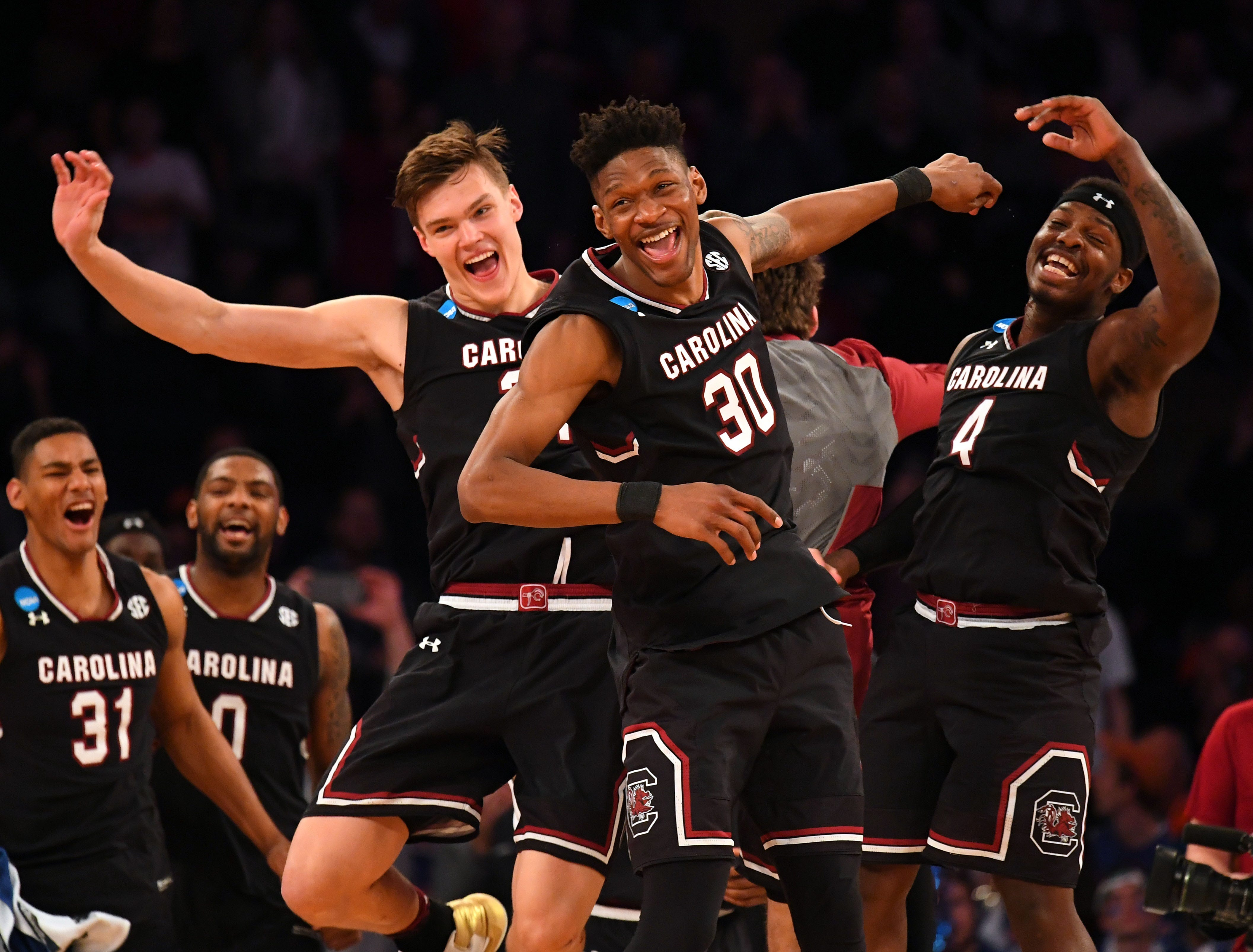 Watch: South Carolina's classy move after routing Baylor