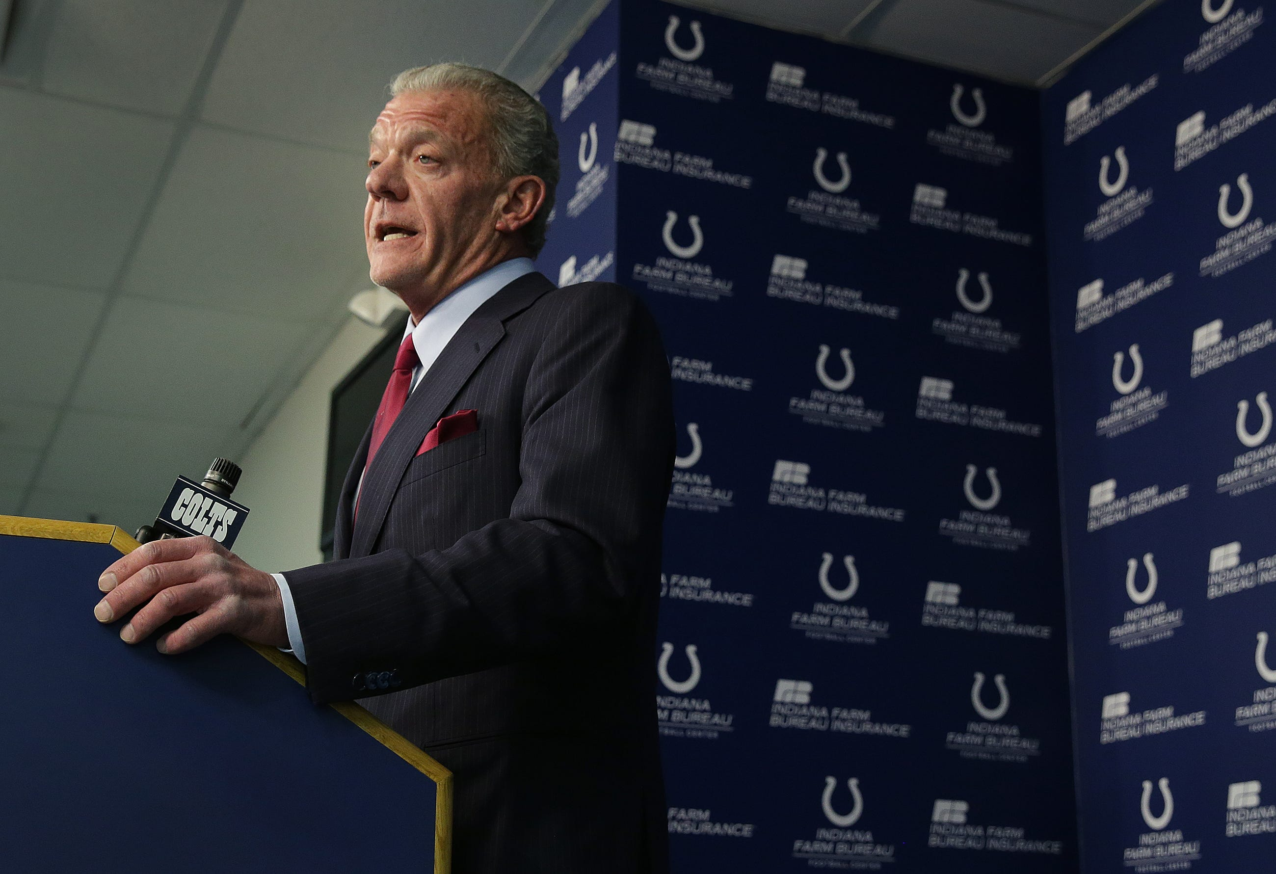 Insider: Irsay asks for patience while Colts 'go young'