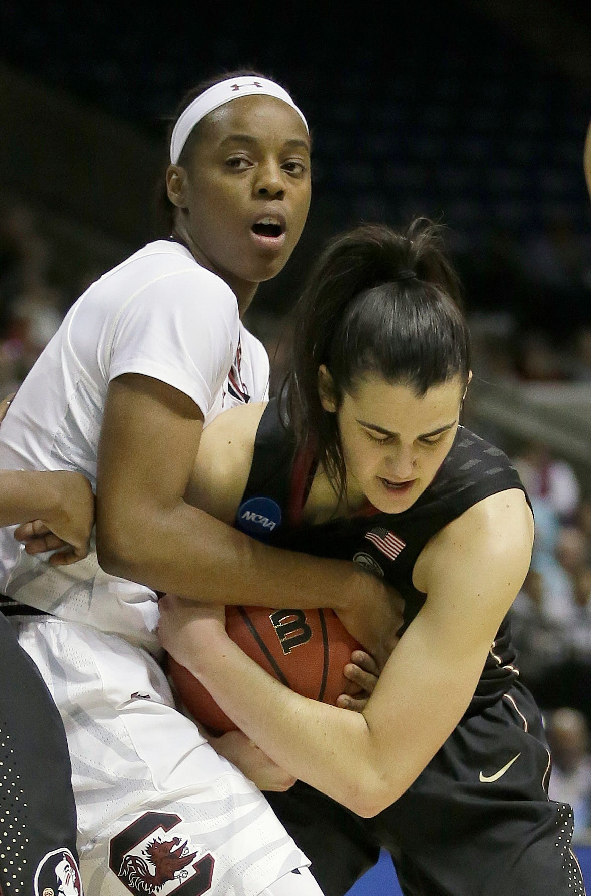 UConn, South Carolina, Miss State and Stanford in Final Four