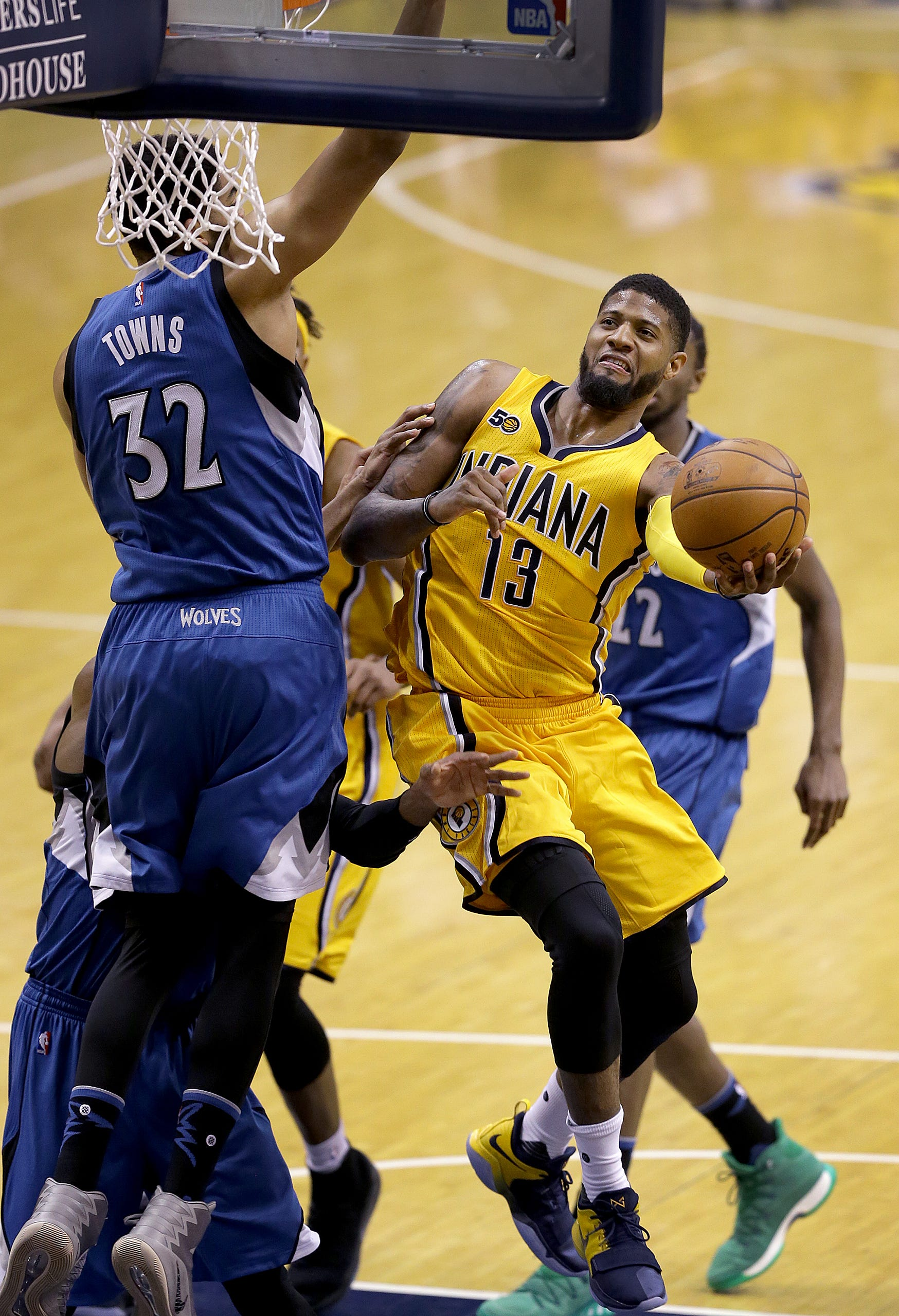Doyel: The Pacers' only hope is a greedy Paul George