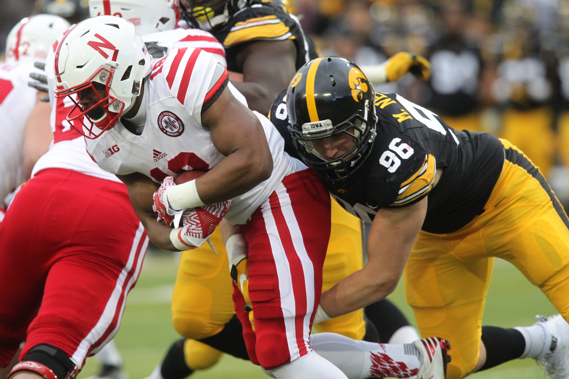 Takeaways: Iowa defensive line injury-riddled, Epenesa excitement and Jewell gets engaged