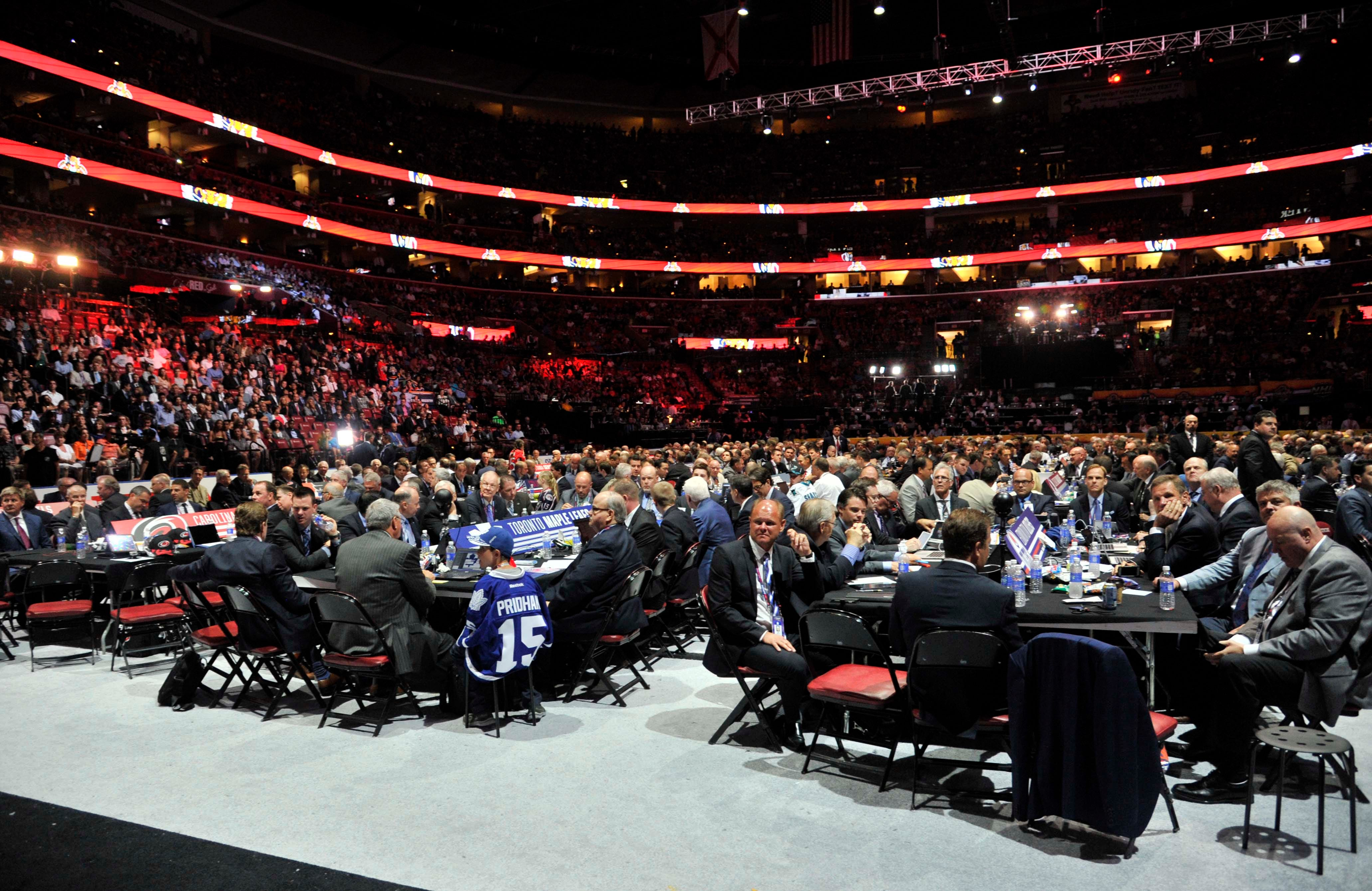 NHL draft lottery odds: Where Coyotes, Avalanche, others could pick
