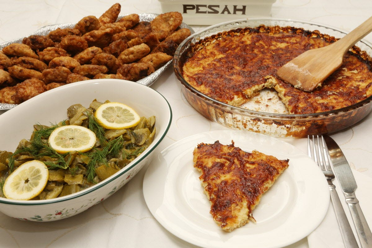 Passover seder menu ideas with Sephardic flavors