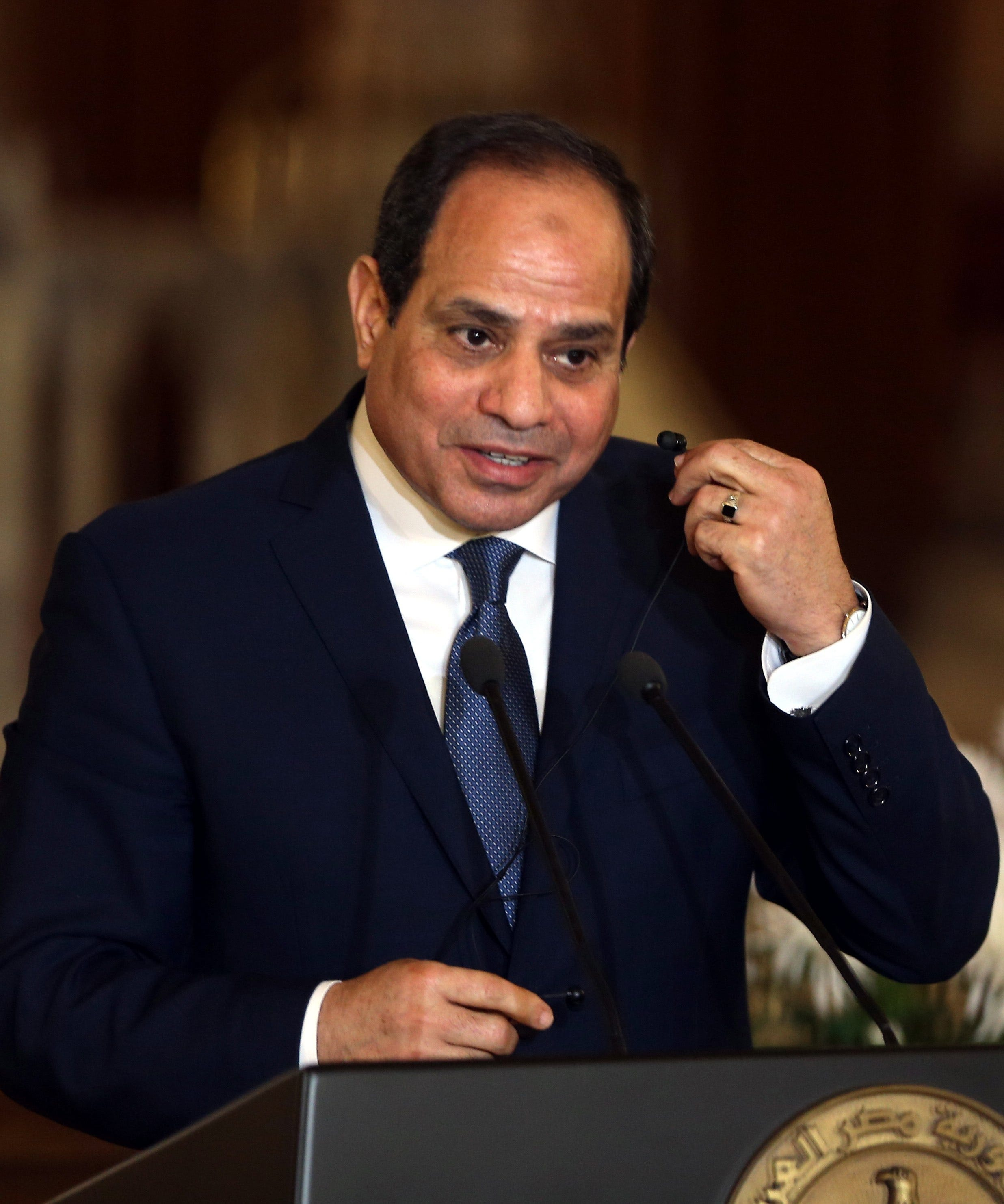 abdel fattah el sisi thesis President abdel fattah el-sisi of egypt got just what he was looking for: validation from an american president after the cold shoulder of the recent past.