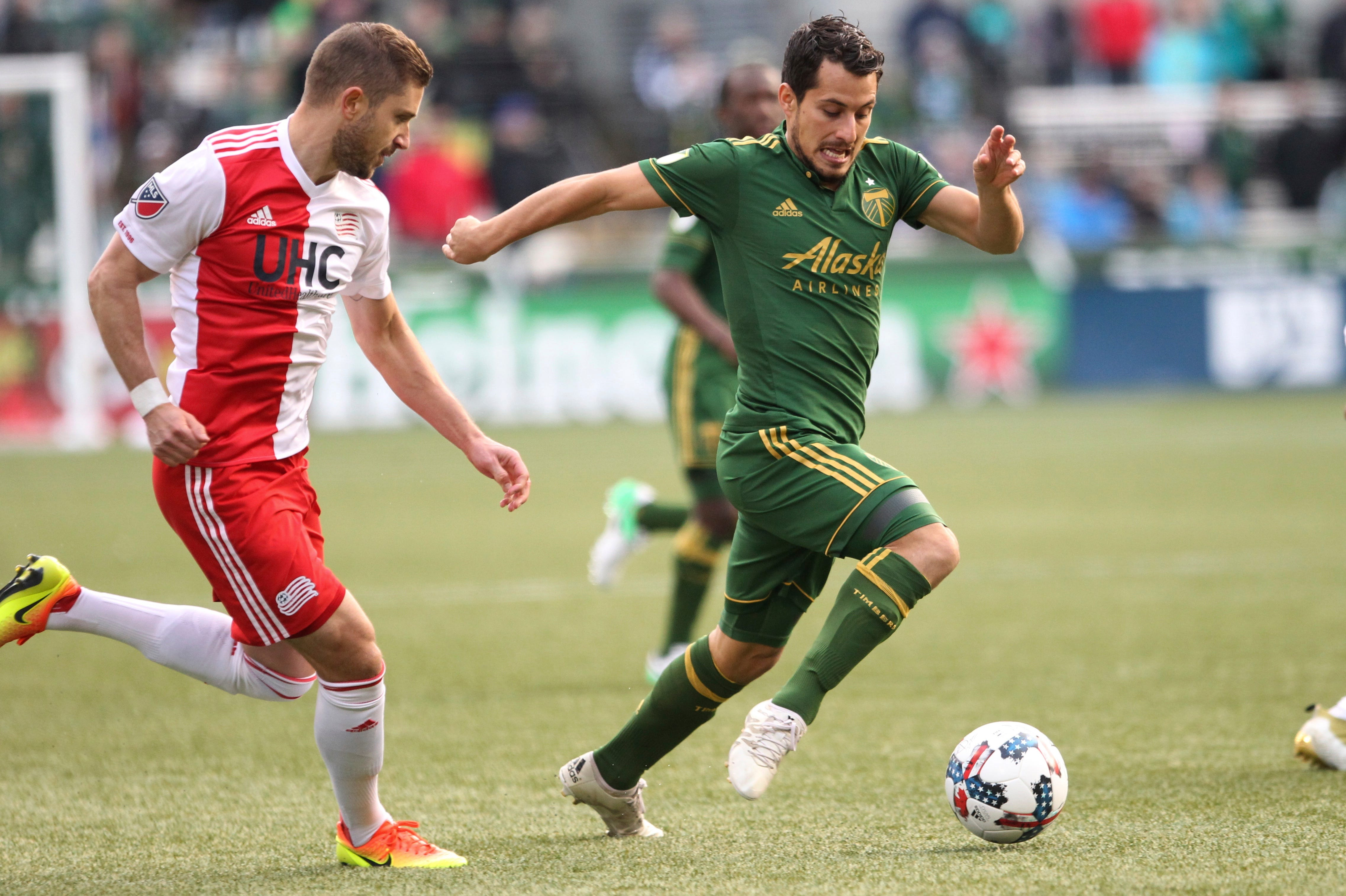 Revolution pulls to 1-1 draw with the Timbers
