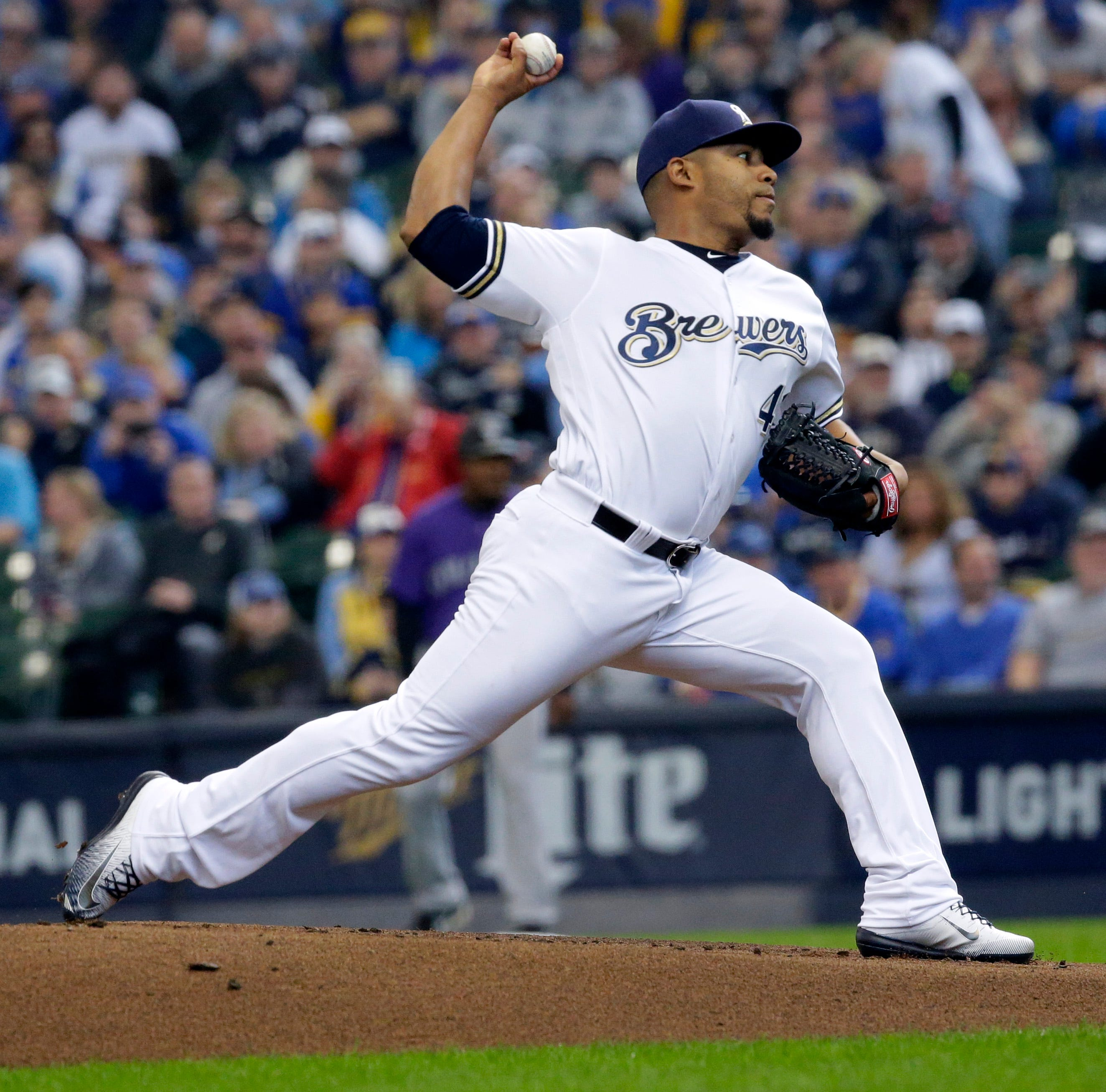 Junior Guerra will return to Brewers' rotation Friday