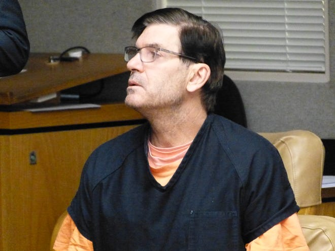 Philip Jacobs, accused of murdering his ex-wife, pleaded not guilty Tuesday in Shasta County Superior Court.