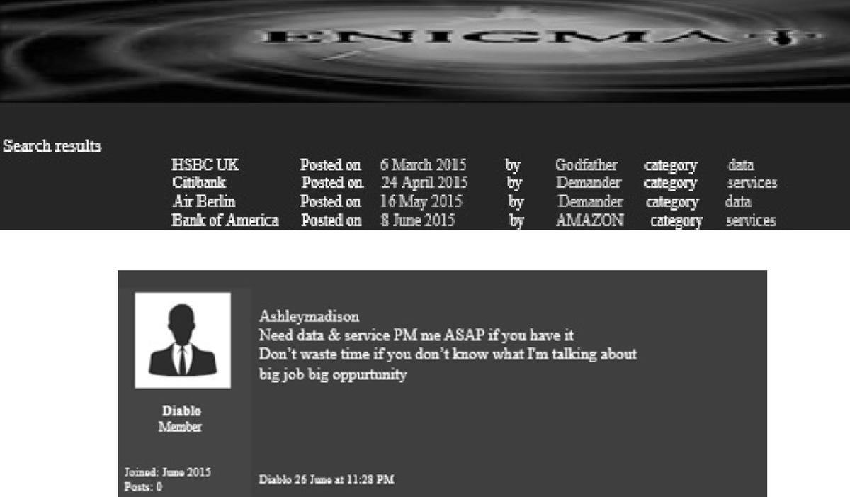 Excellus case offers a glimpse into the dark web of private data