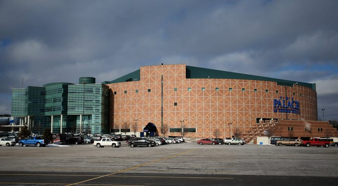 The Palace of Auburn Hills on January 16, 2015.