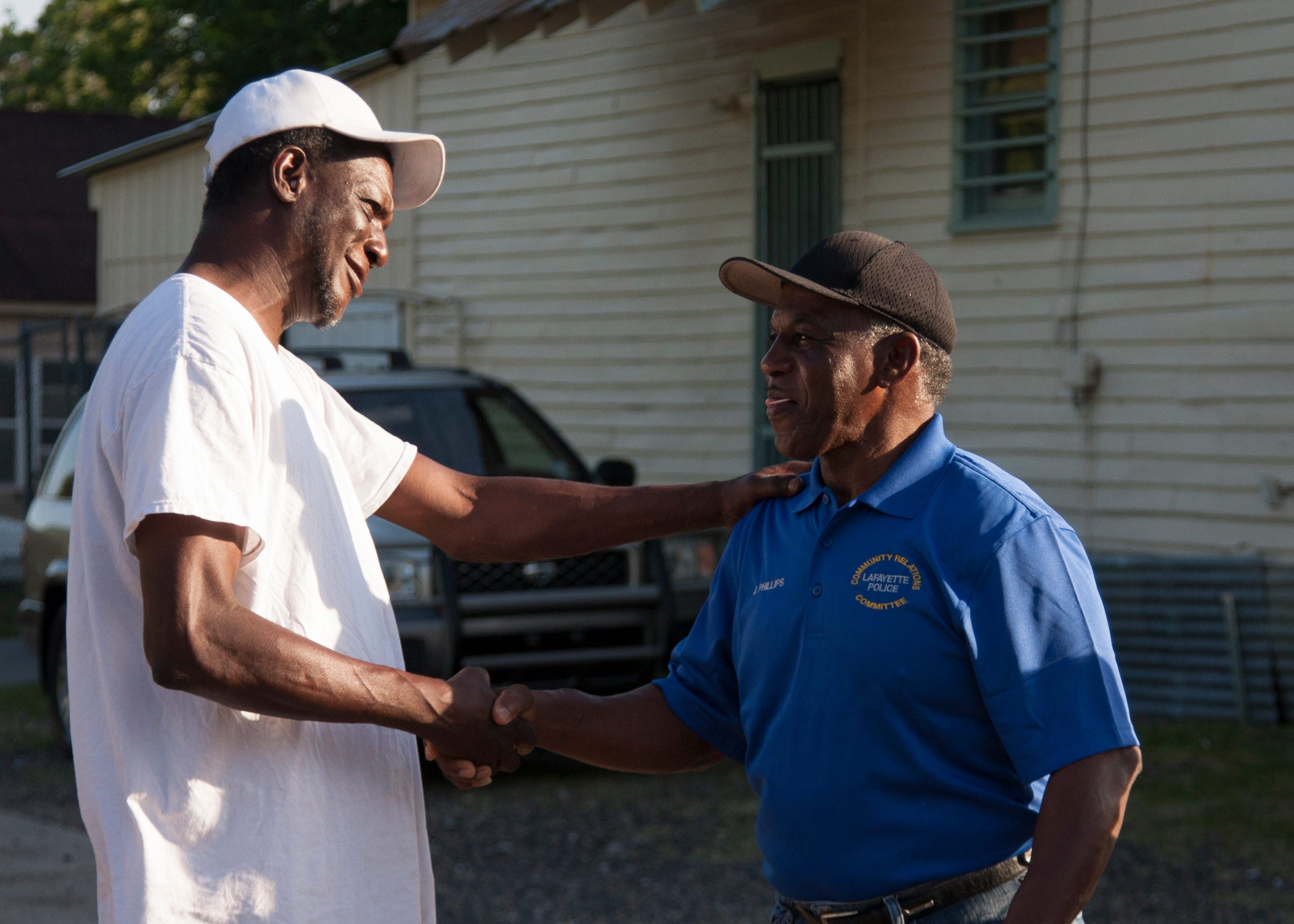 Lafayette Police reaches out to McComb-Veazey residents