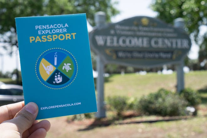 You can pick up at Pensacola Explorer Passport at any of the three Pensacola visitor centers, or download your own on their website.