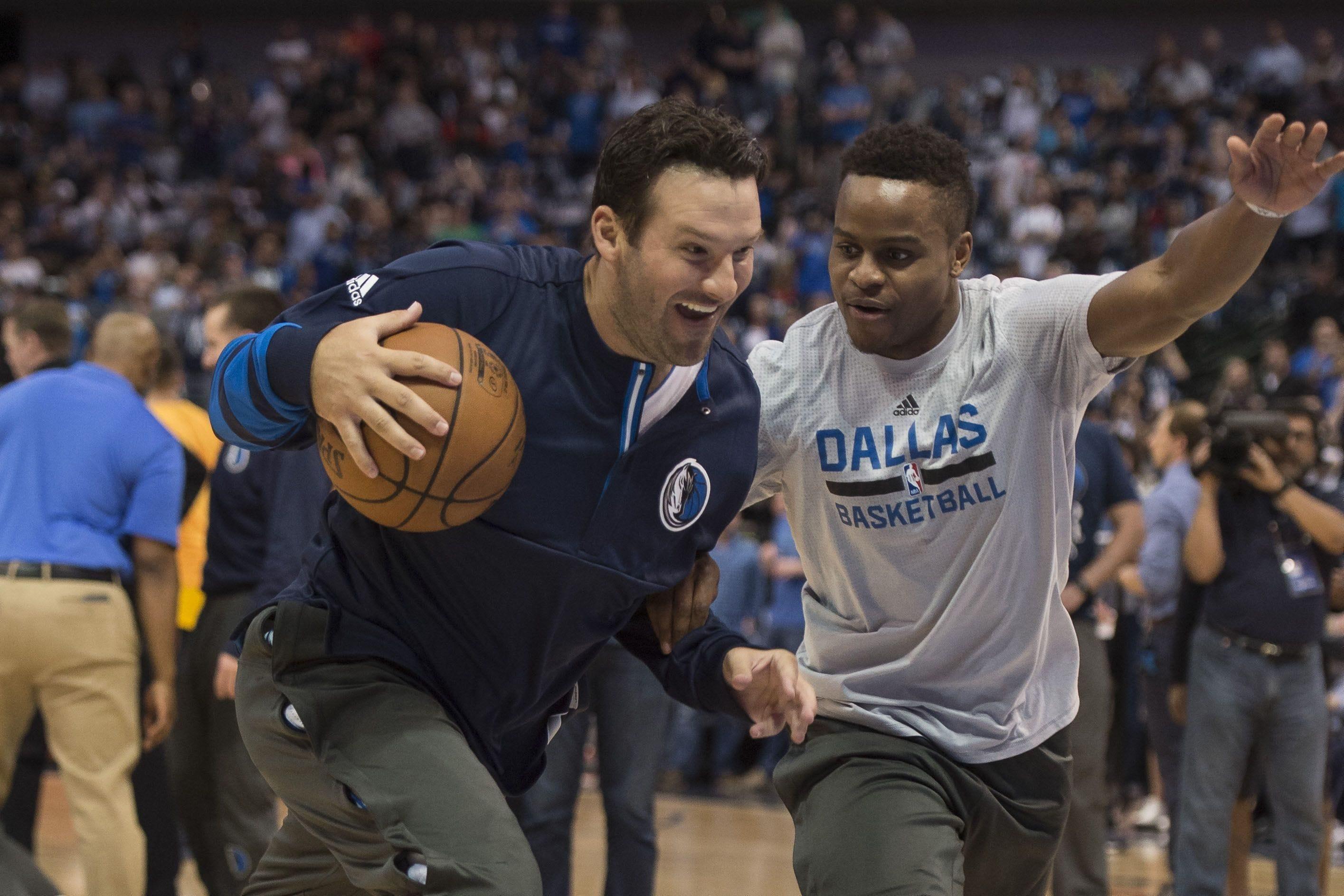NBA blocked Mark Cuban's idea to let Tony Romo play in Mavs game
