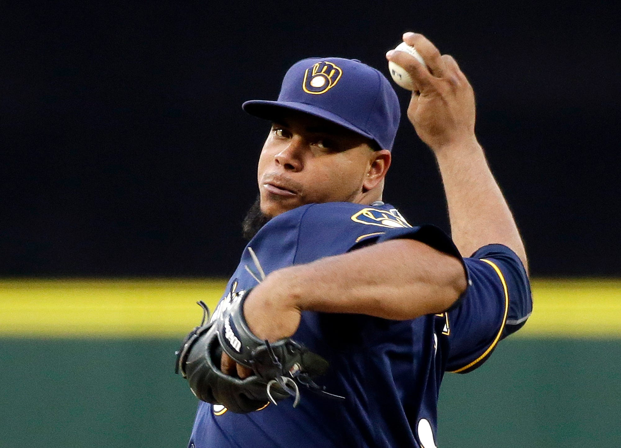 Wily Peralta tries to go 4-0