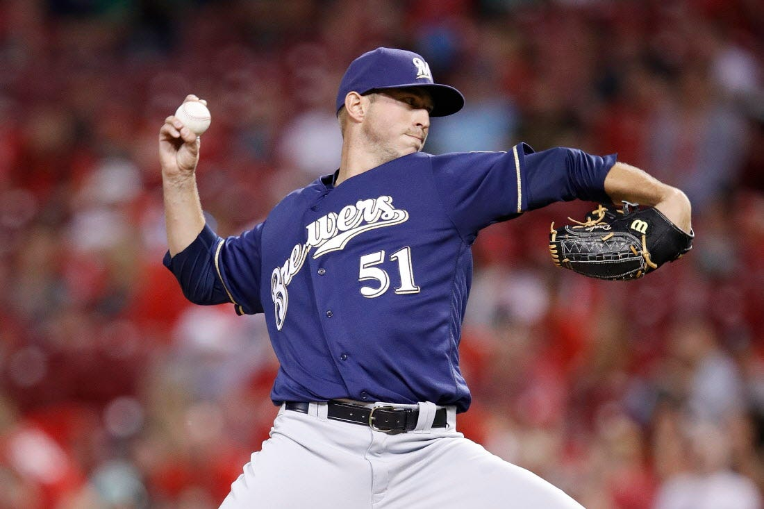 Get to Know: Q&A with Brewers reliever Oliver Drake