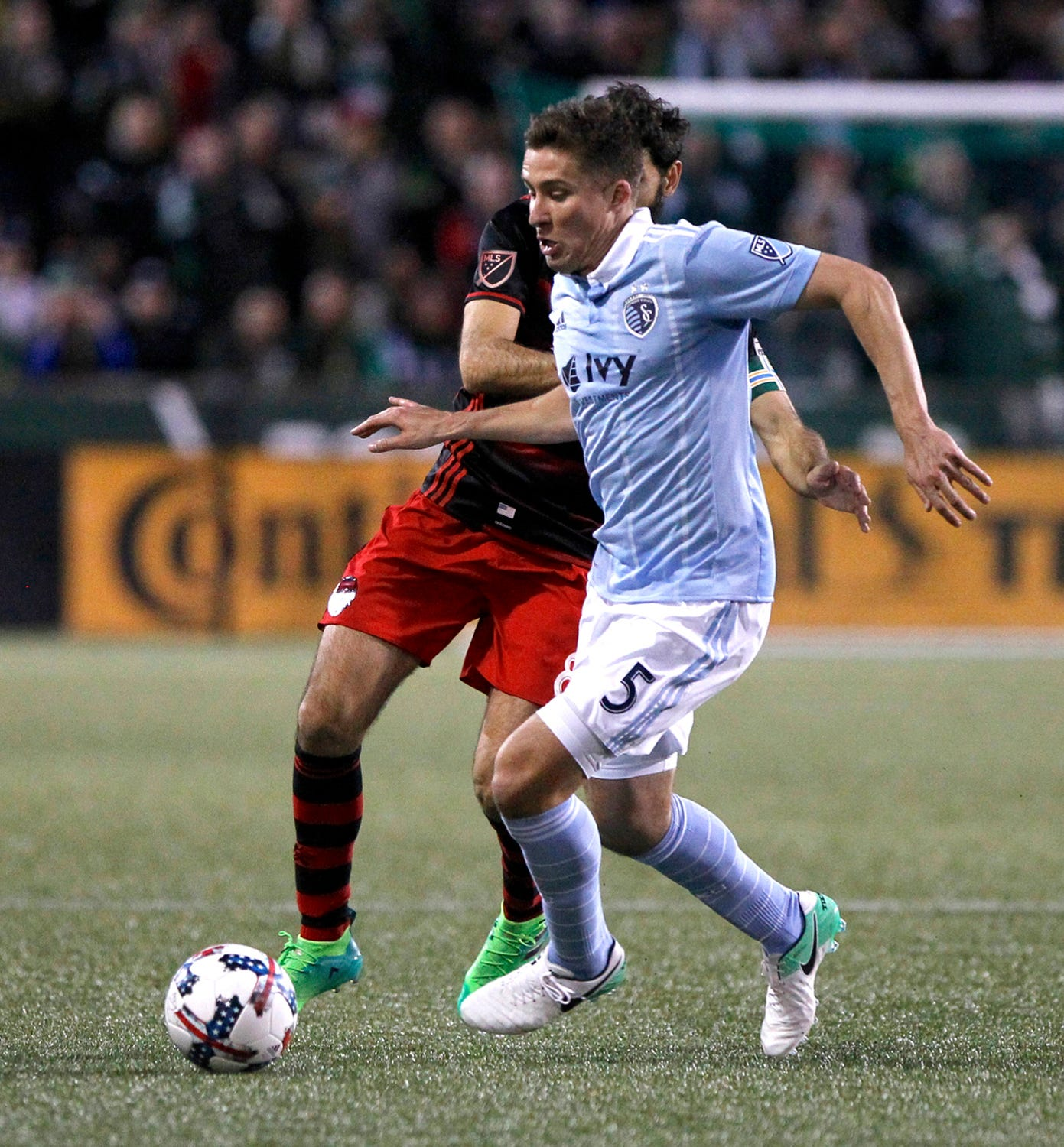 Sporting KC beats the Timbers 1-0 in Portland