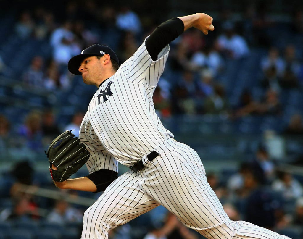 Holliday, Judge slug Yankees to 8th straight win