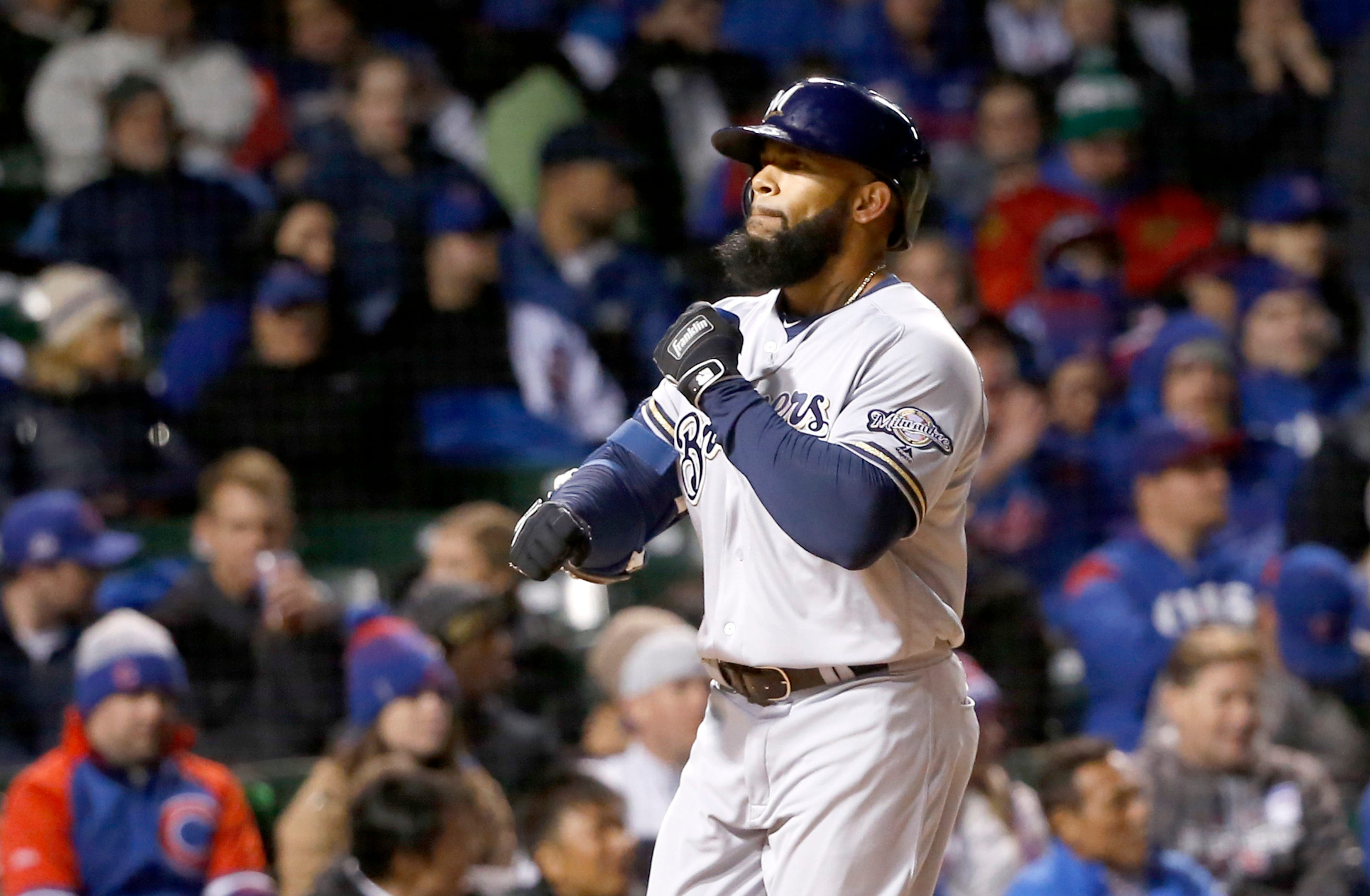 Brewers 6, Cubs 3: Thames powers win