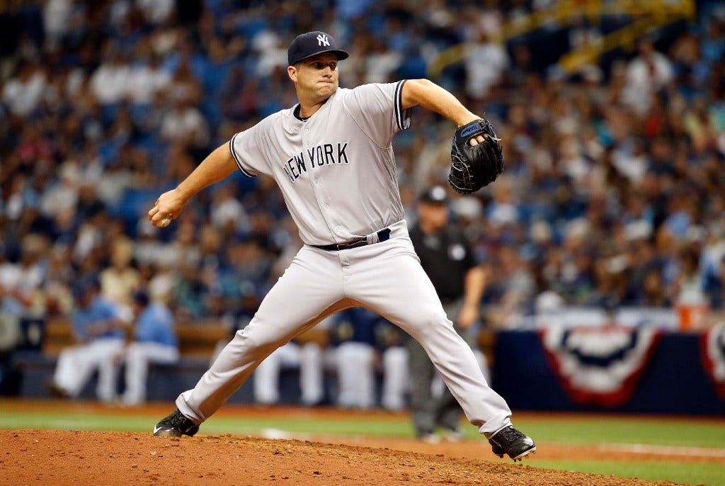 Yankees' Adam Warren is an all-in-one pitcher