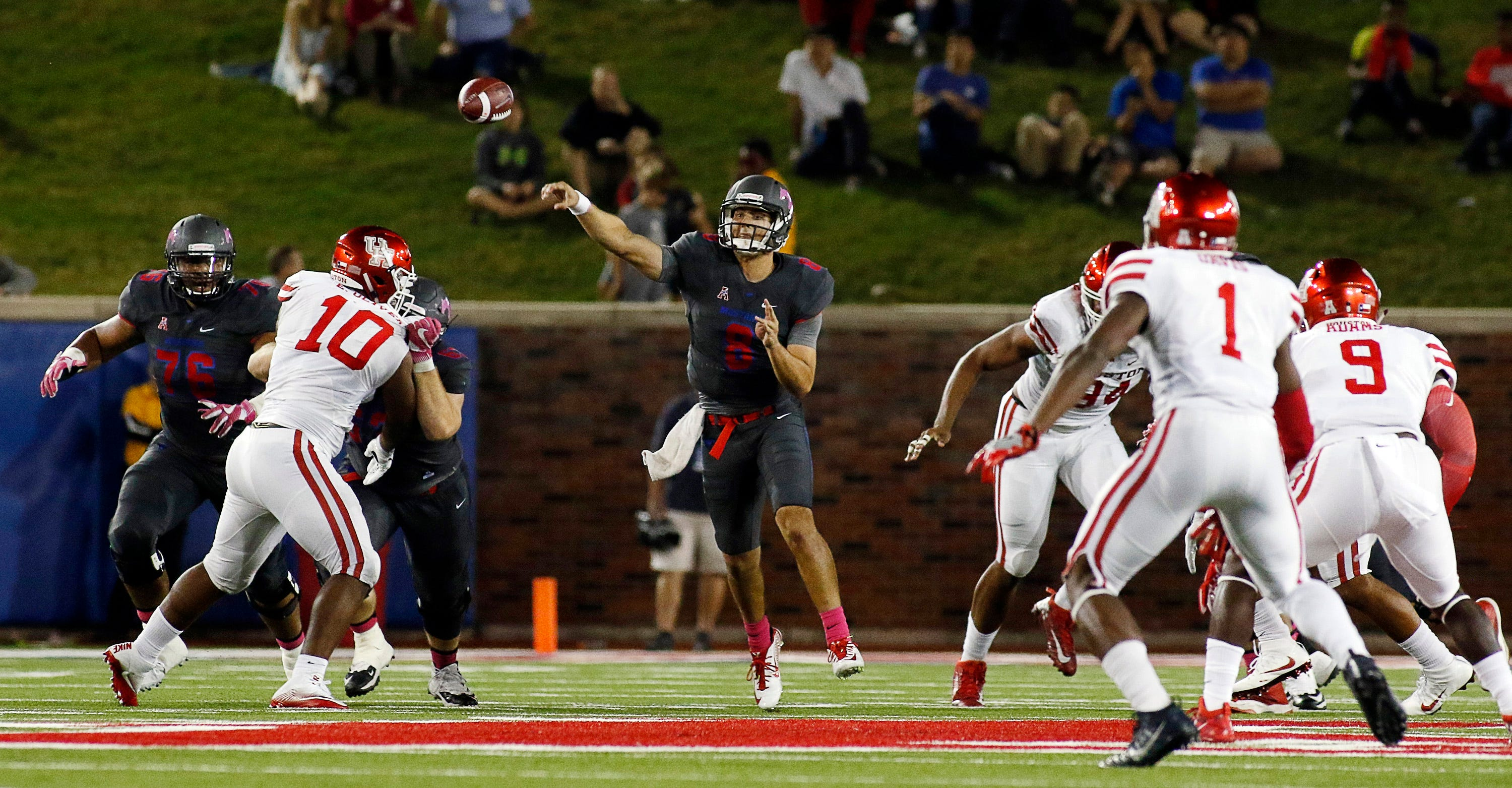 AAC notes: QB battles abound, and optimism at SMU