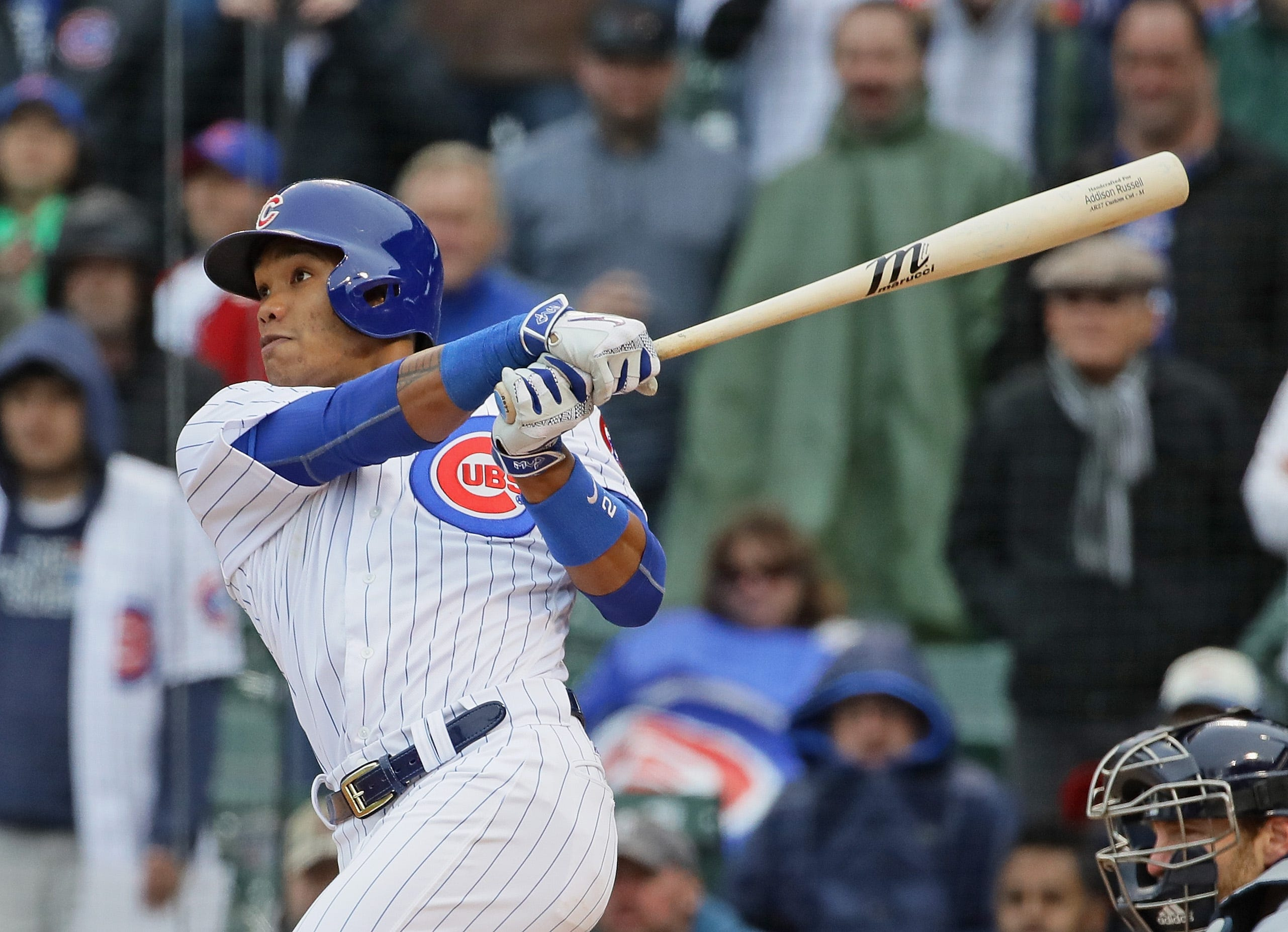 Cubs 7, Brewers 4: Russell hits walk-off shot