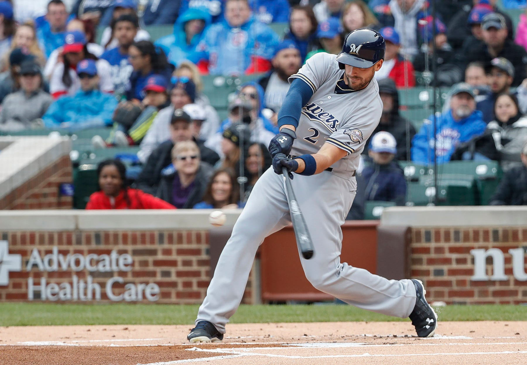 Power surge working well for Brewers