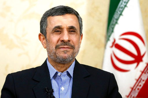 Ex-Iran president Mahmoud Ahmadinejad says Michigan football will return to 'glory days'