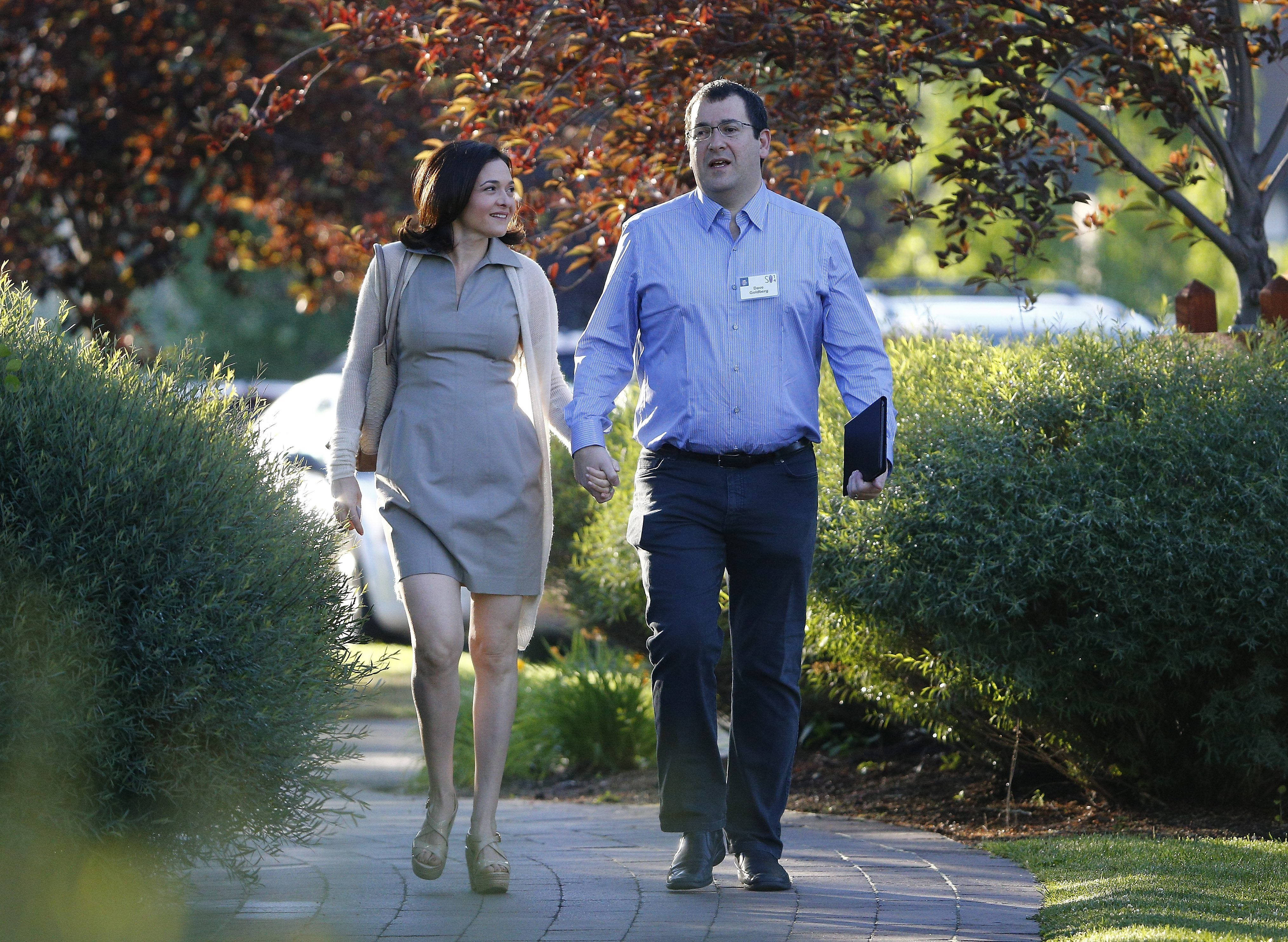 Sheryl Sandberg: 'I felt like a ghost' after husband's death