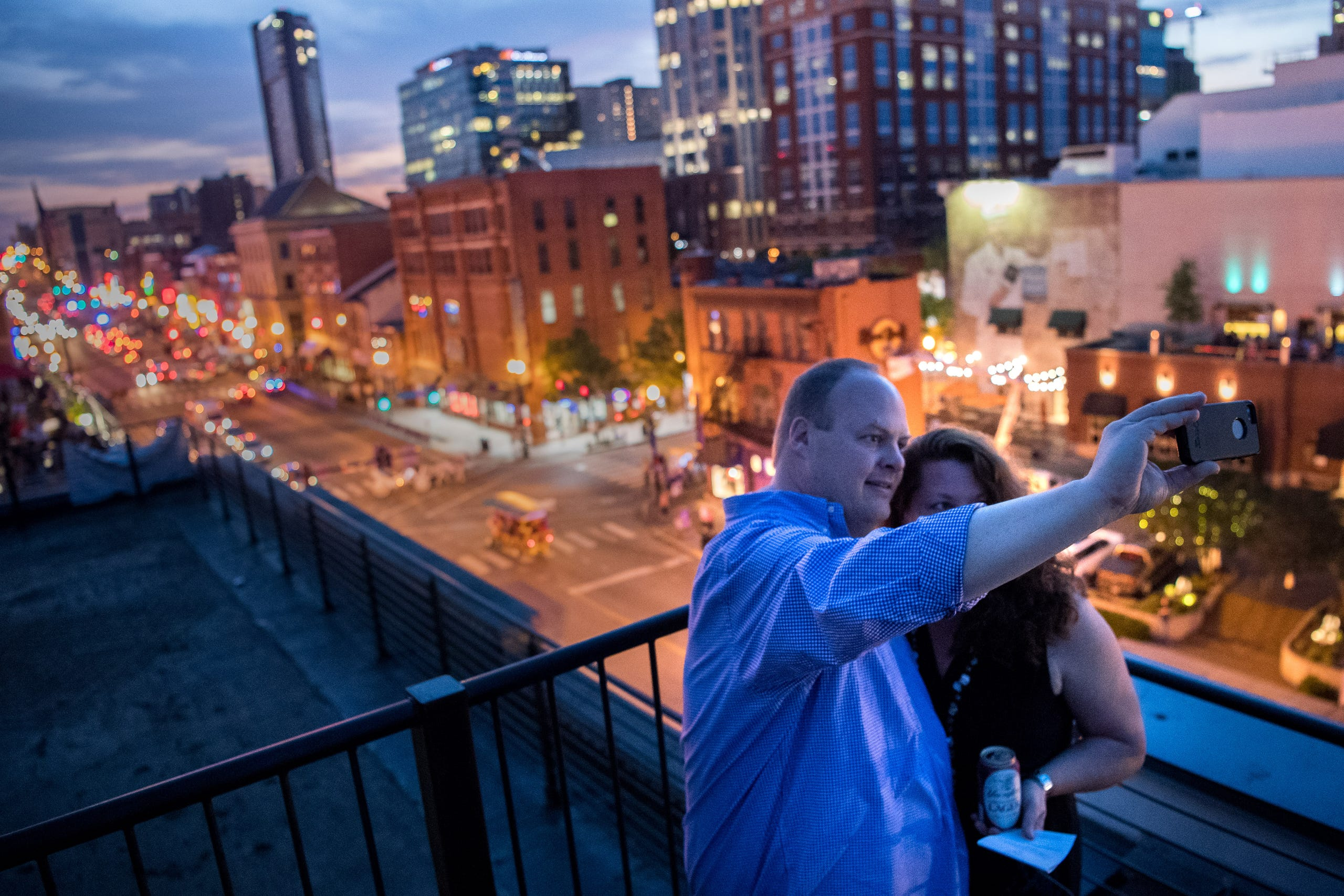 Nashville rooftops offer drinks and a view