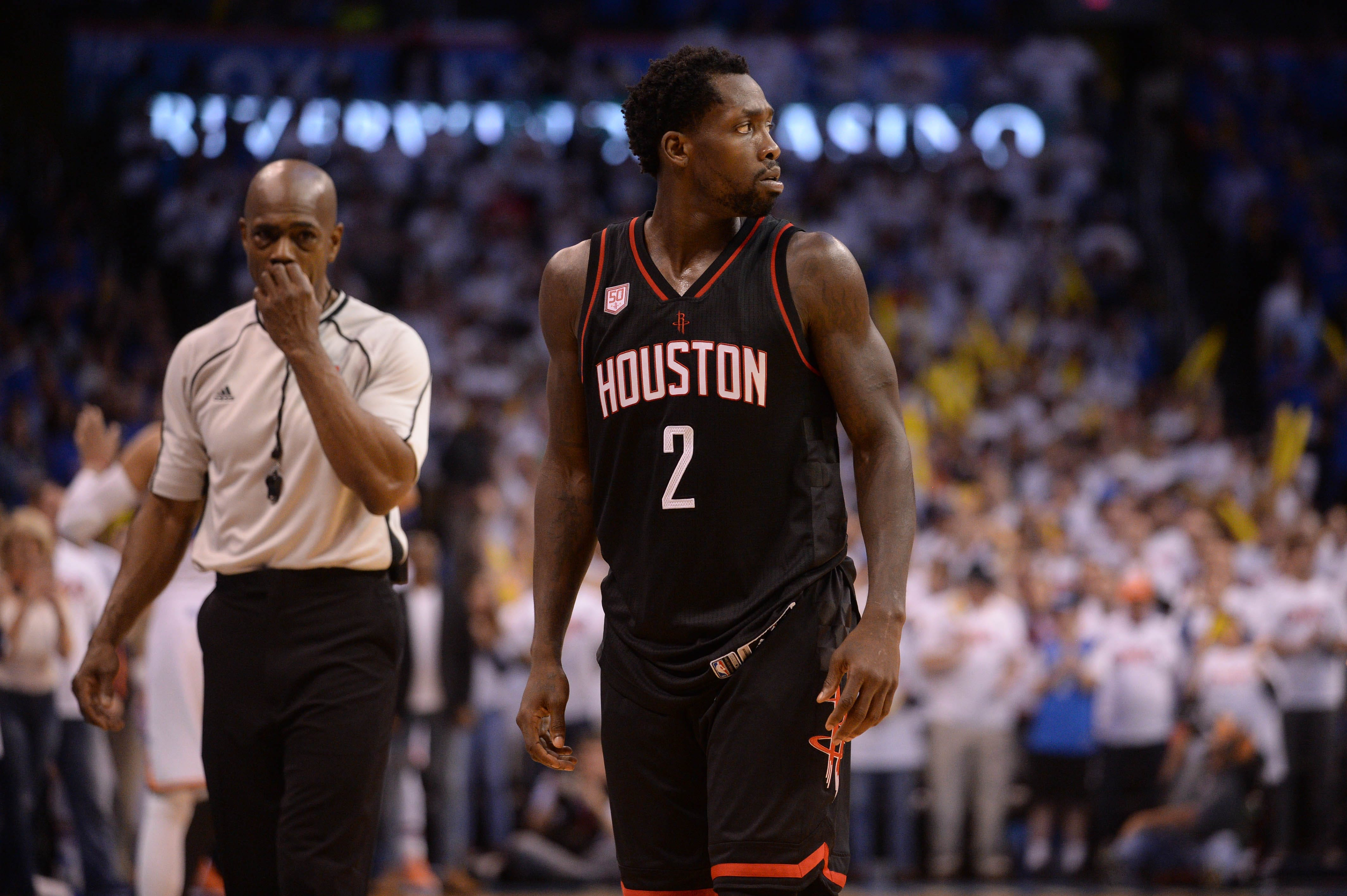 NBA investigating incident with fan and Rockets guard Patrick Beverley