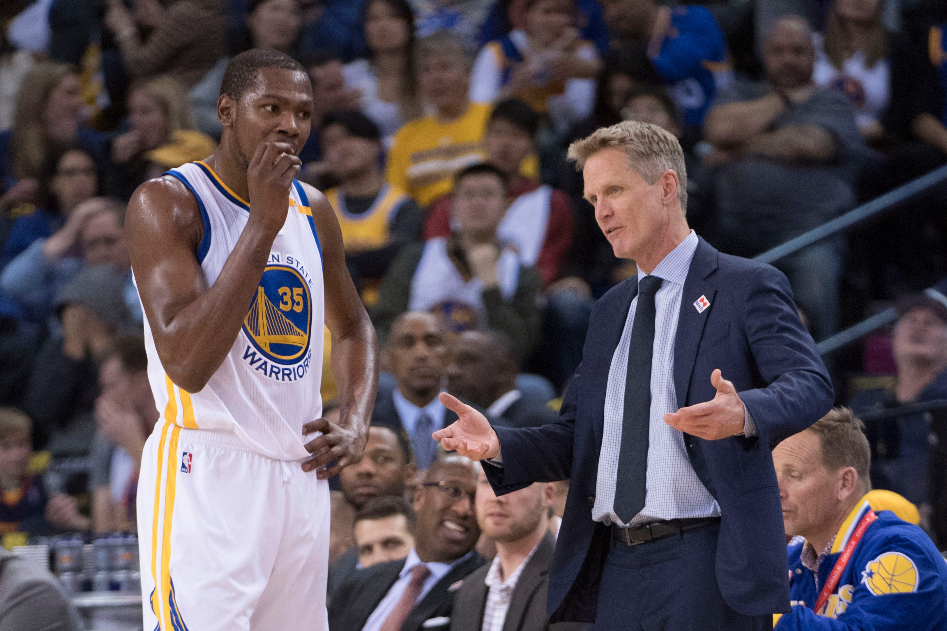 Warriors will be without Kevin Durant, Steve Kerr for Game 3 against Blazers