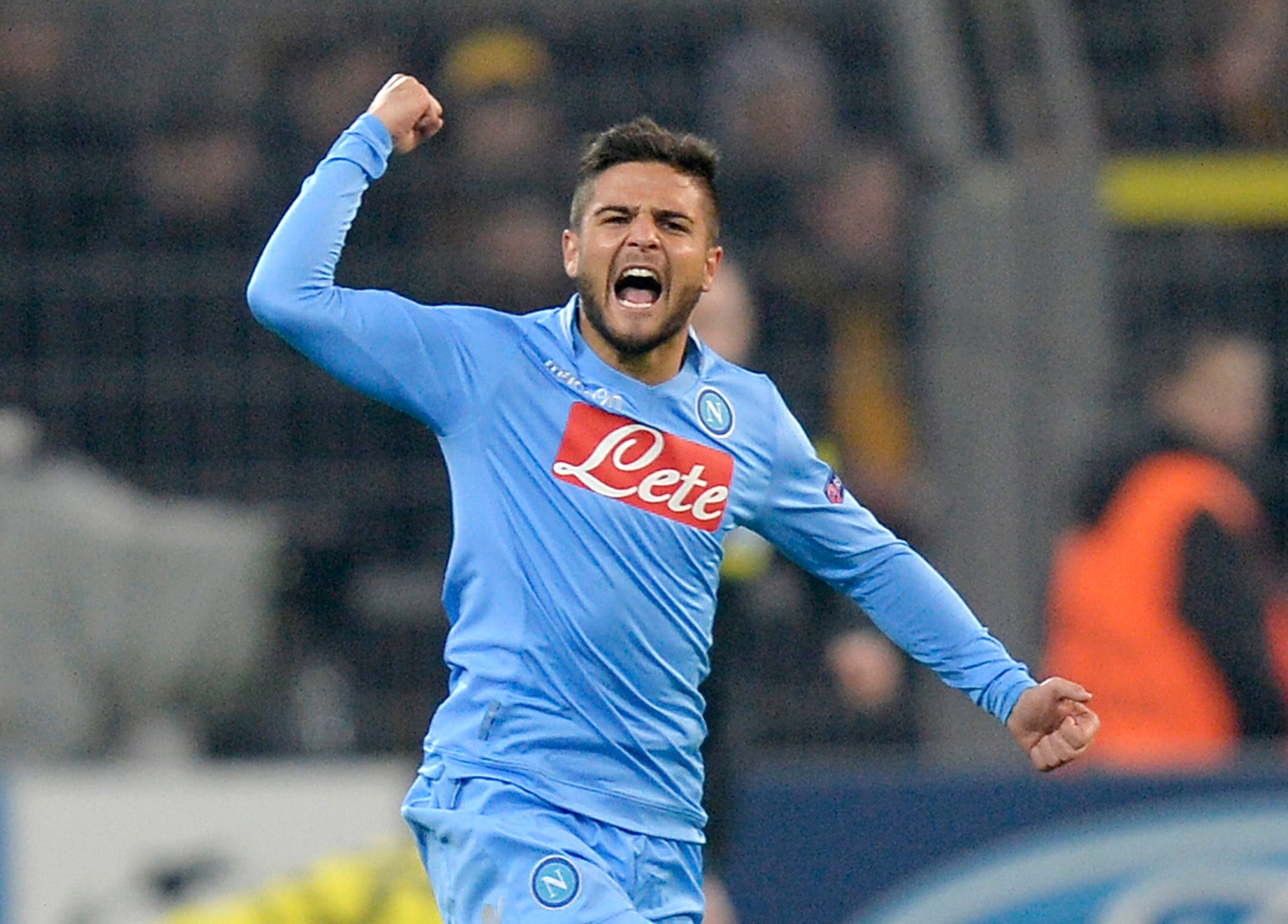 Napoli forward Lorenzo Insigne extends contract until 2022