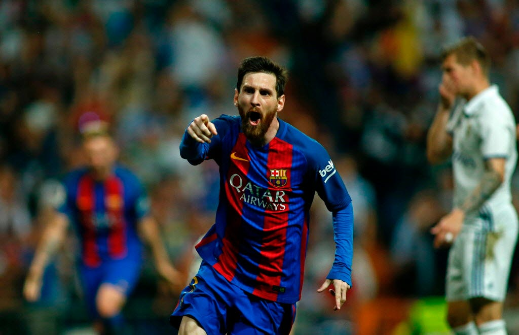Lionel Messi's 500th Barcelona goal wins El Clasico against Real Madrid