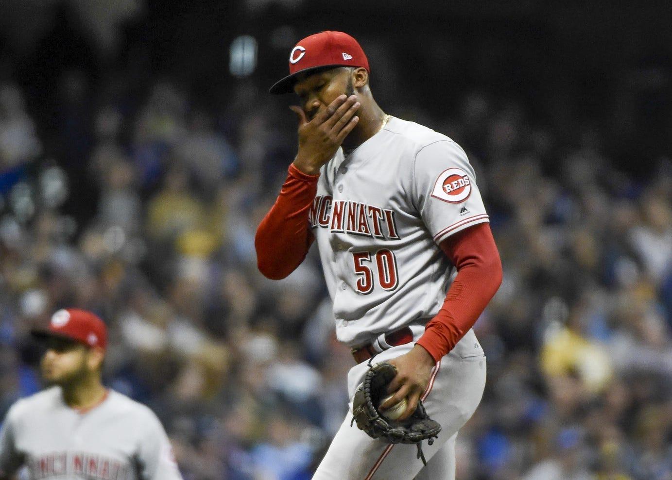 Reds recap: Amir Garrett struggles in loss