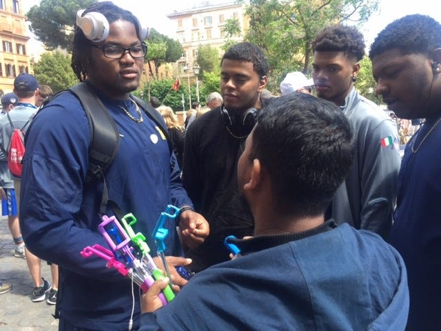 Rashan Gary embraces being role model: 'It's my time'