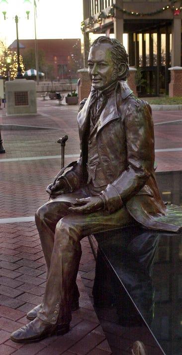 Poinsett statue